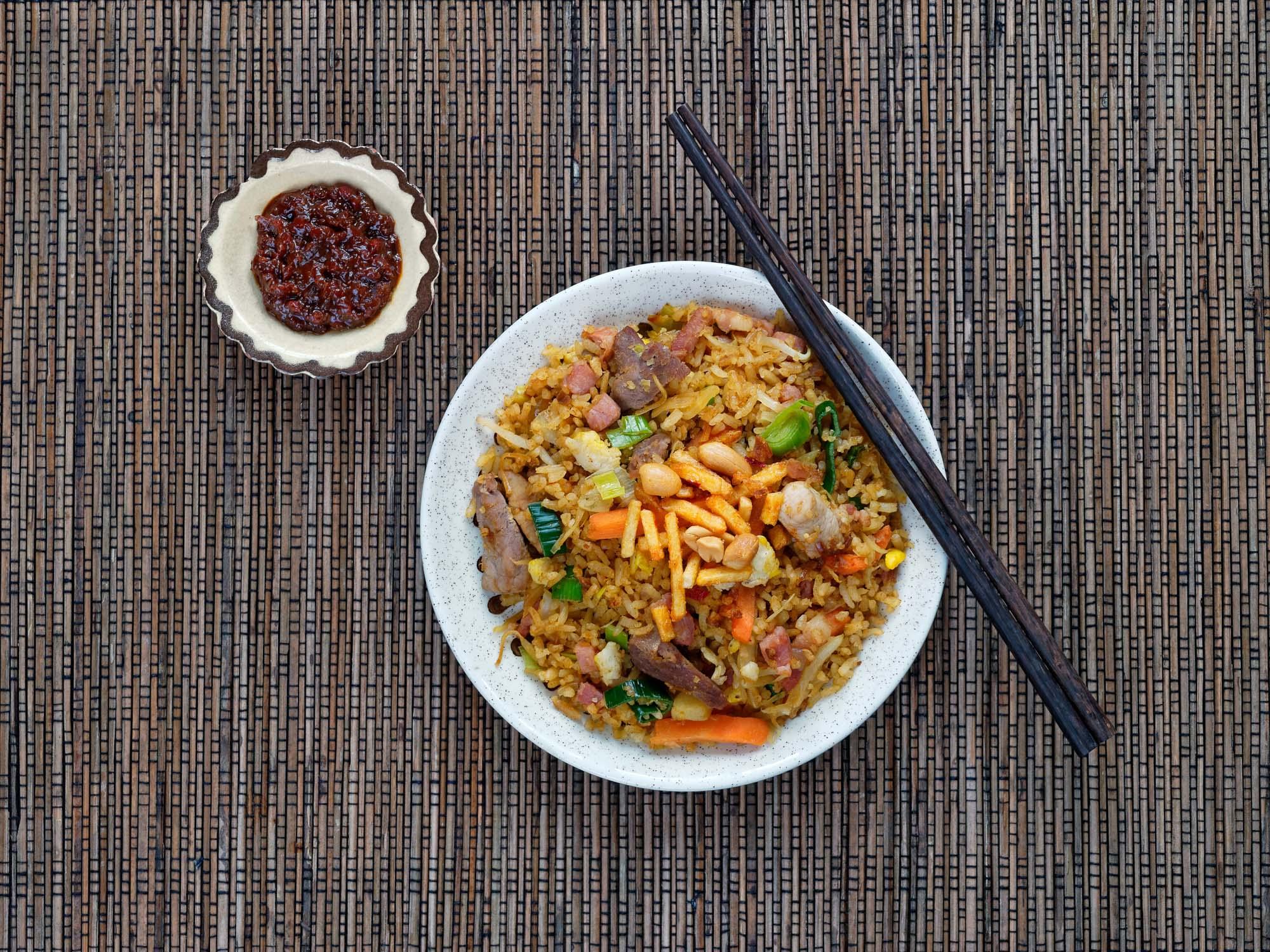 Indonesisk ret Nasi goreng