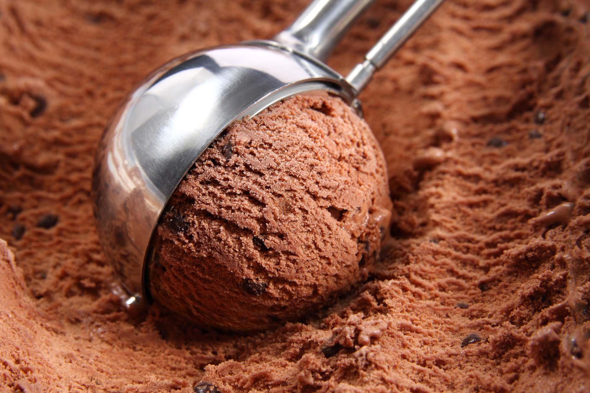 Chokolade-is