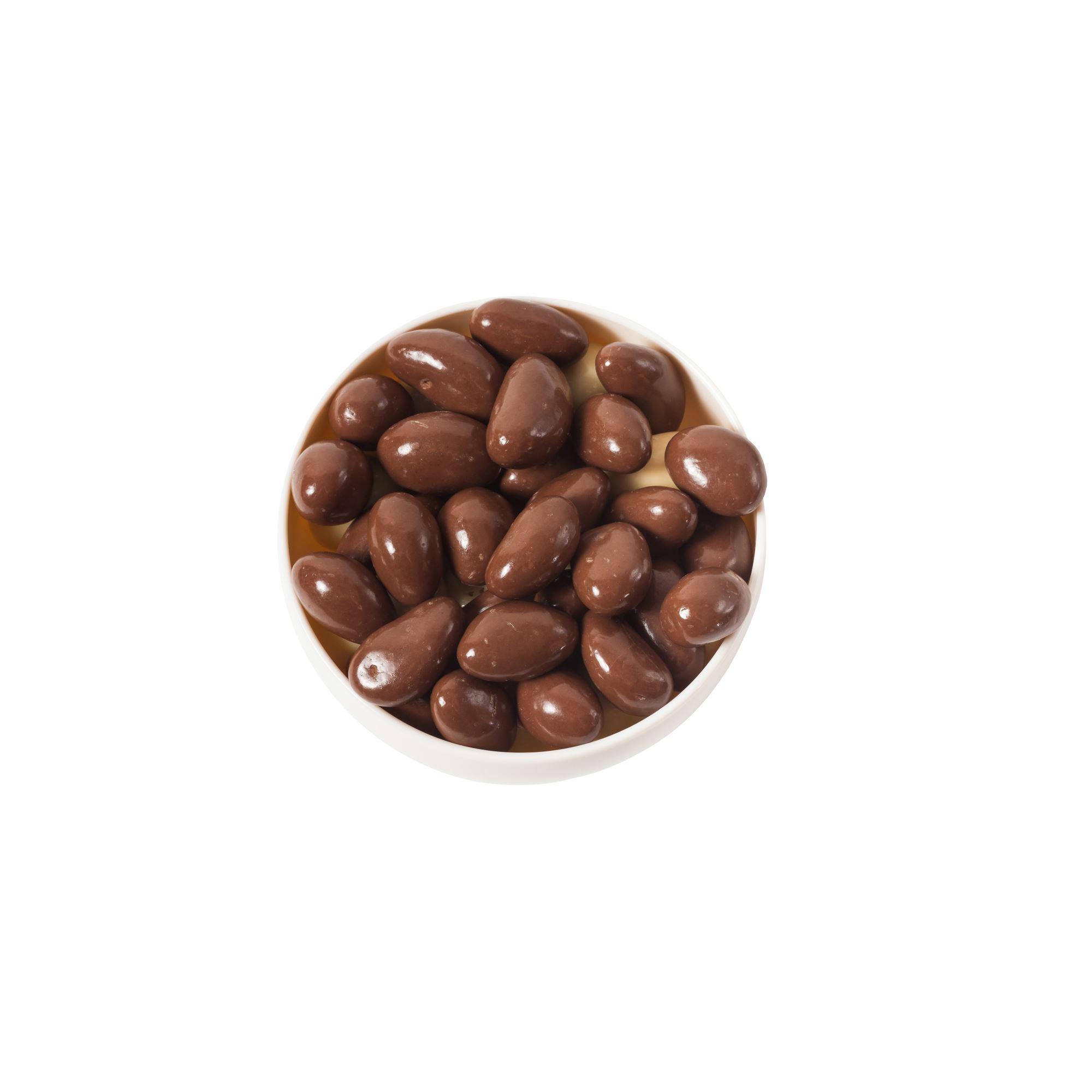 Chokoladeglaserede pecannødder