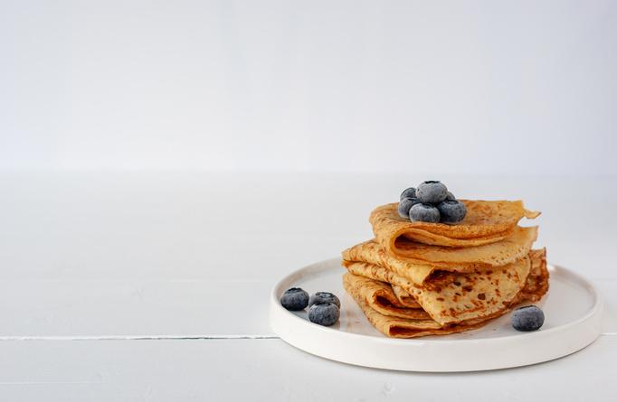 Pandekager uden mel