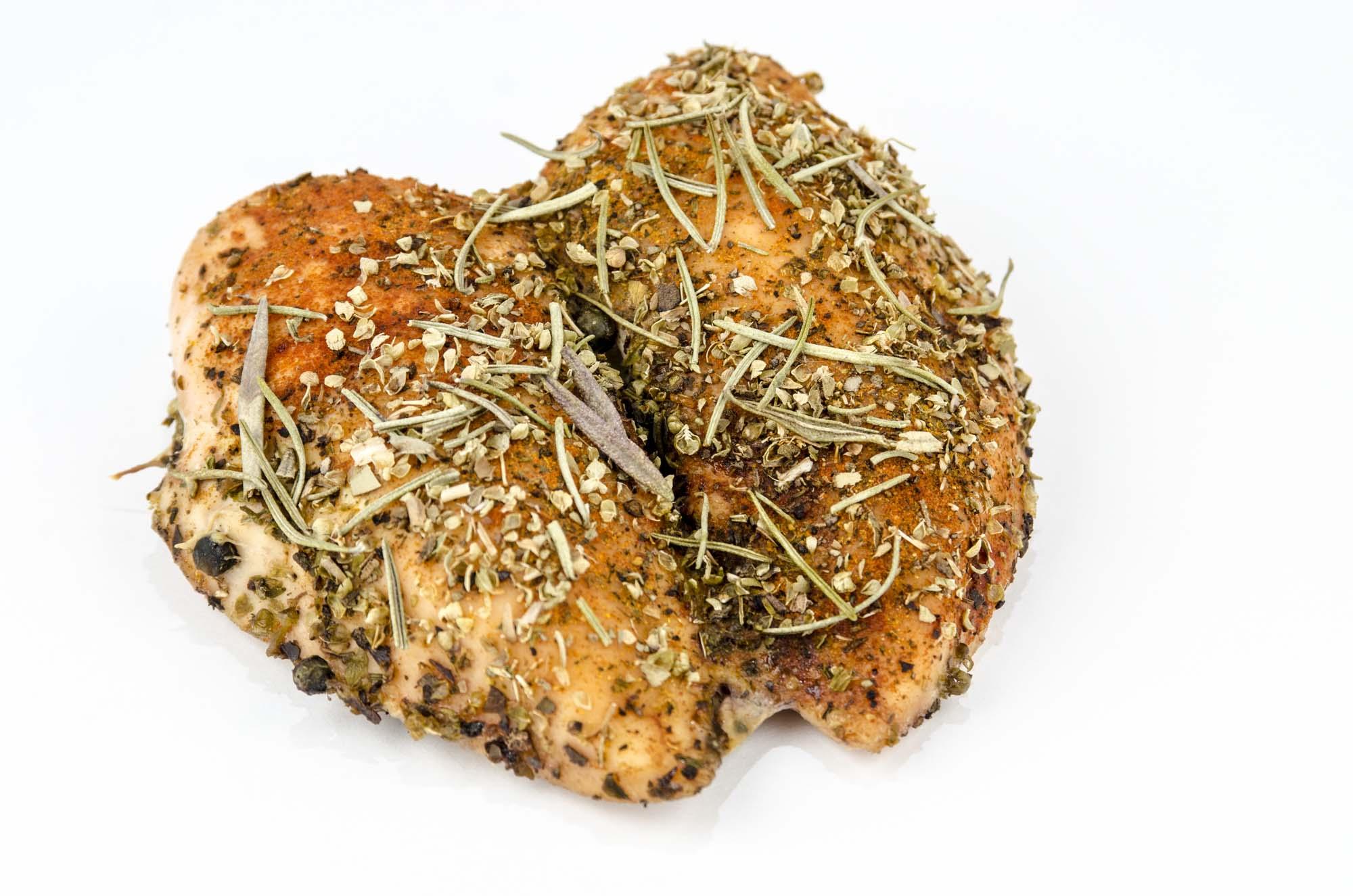 Grillet kylling med urtesmør