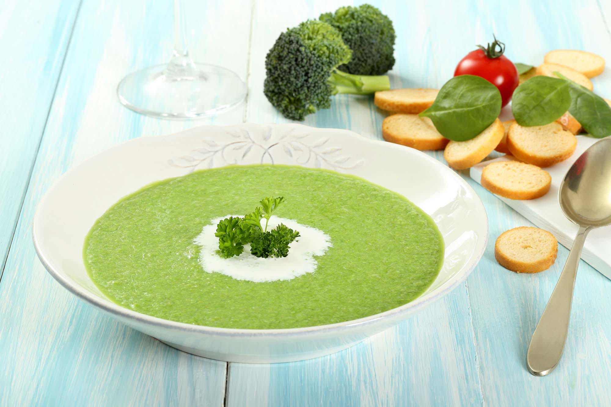 Spinat potage