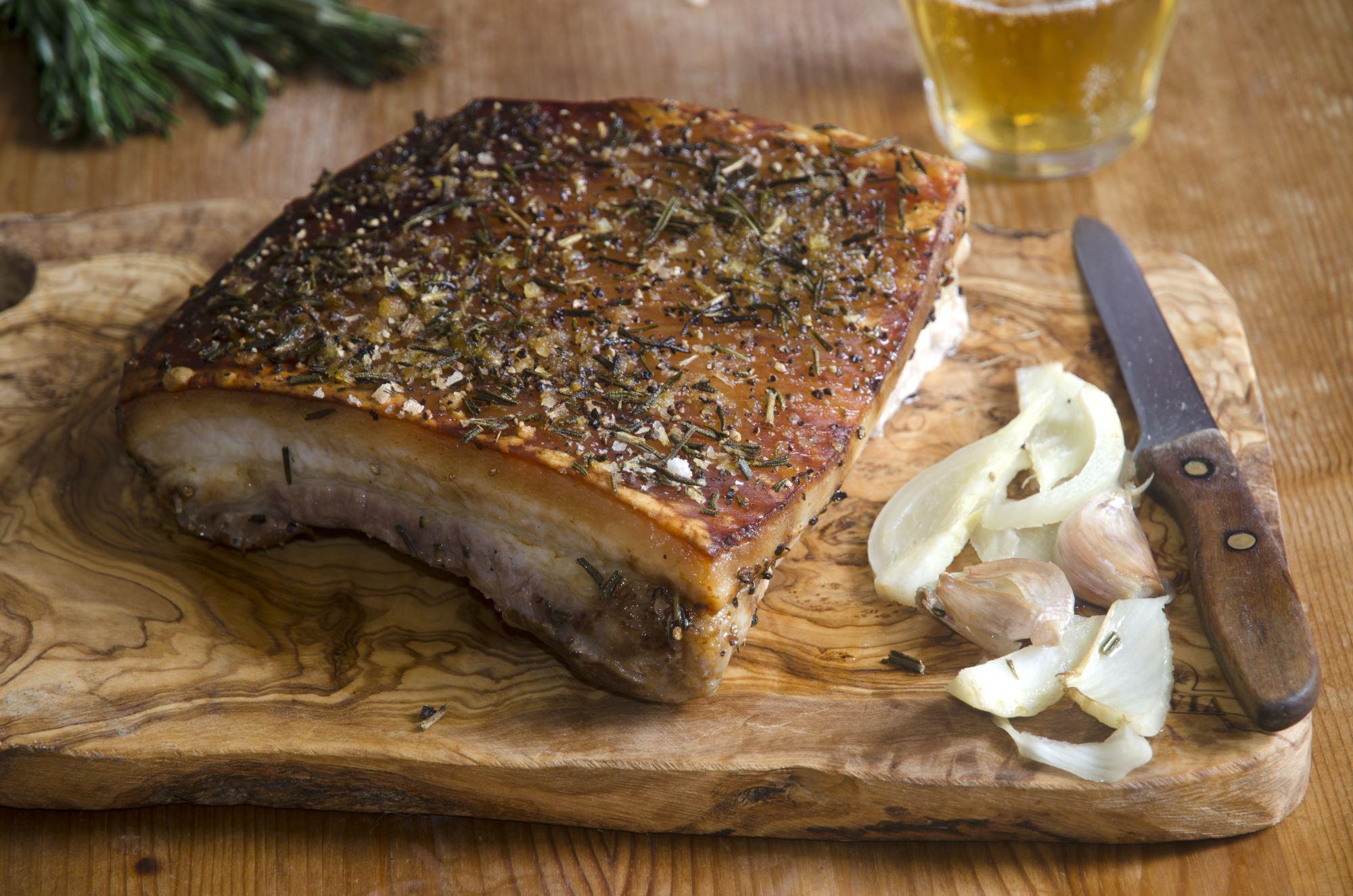 braiseret pork belly