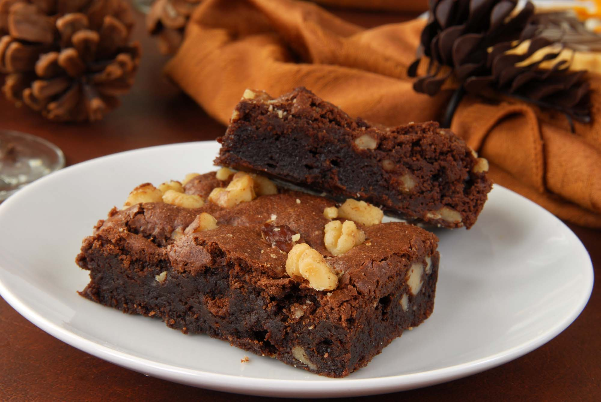 Brownies med nødder