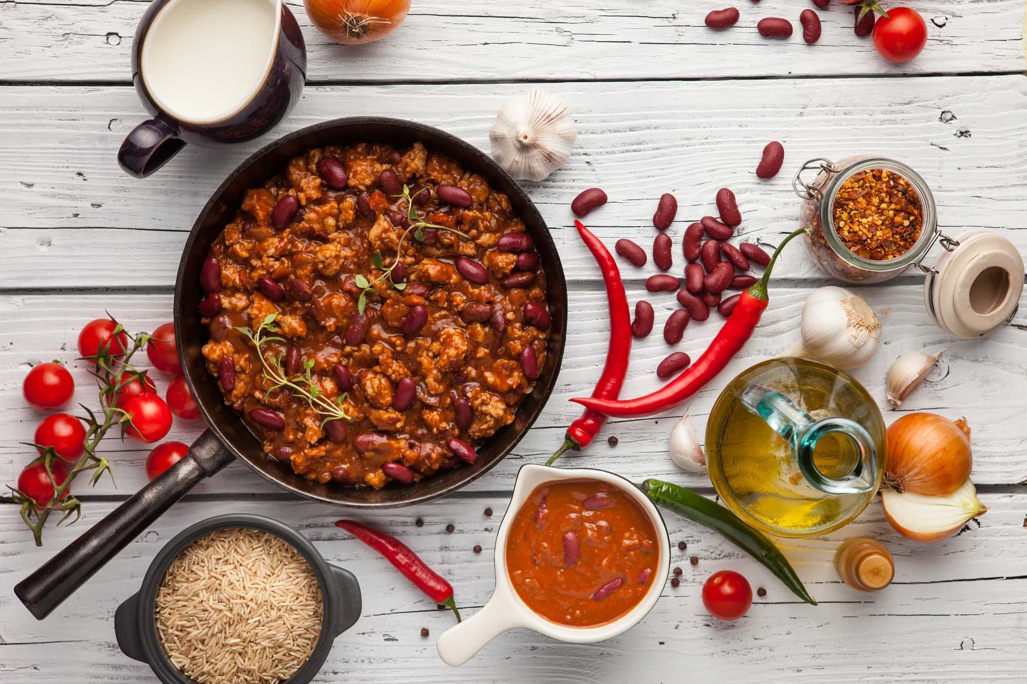 Klassisk chili con carne