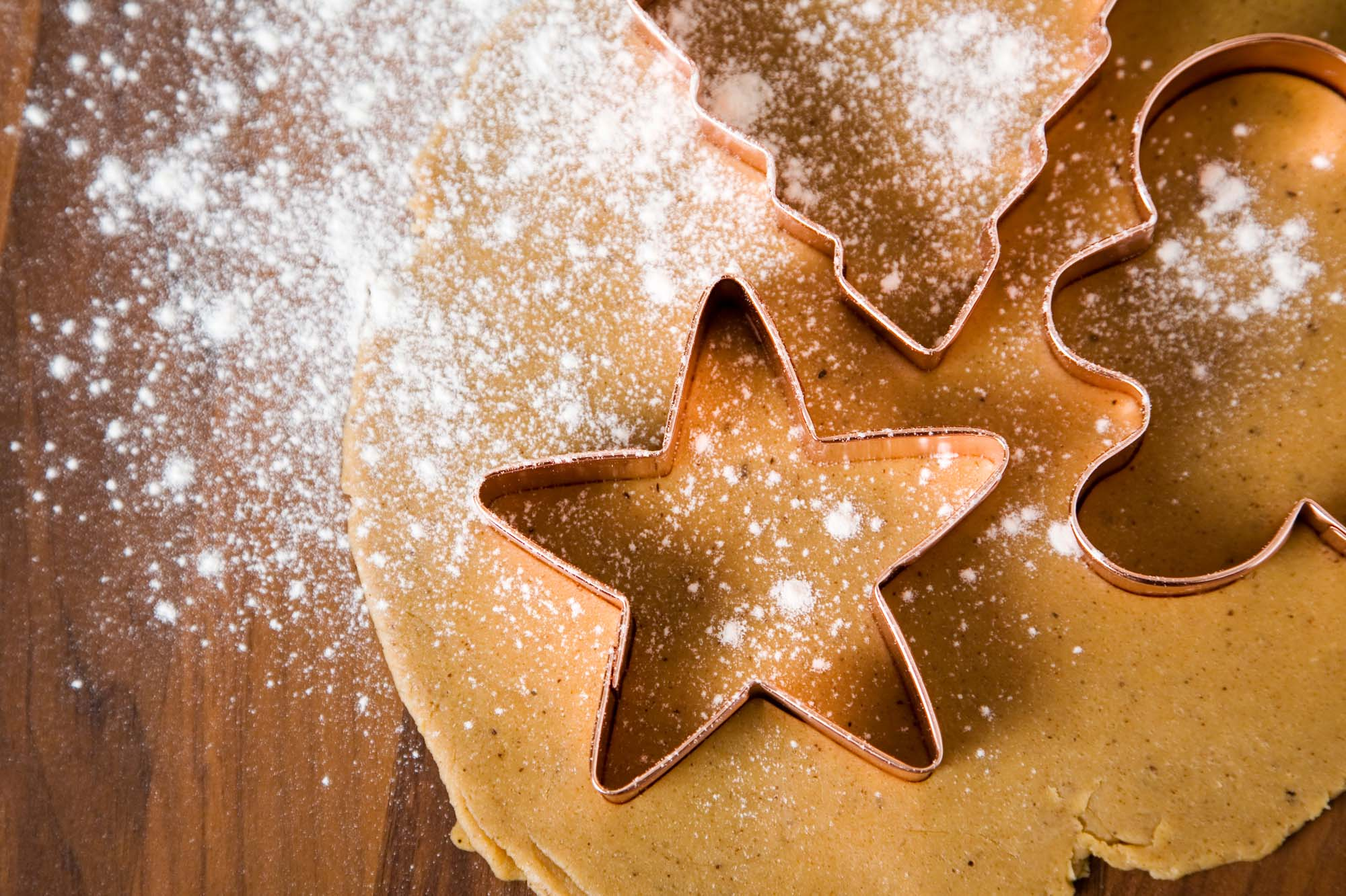 Juleformkager med glasur