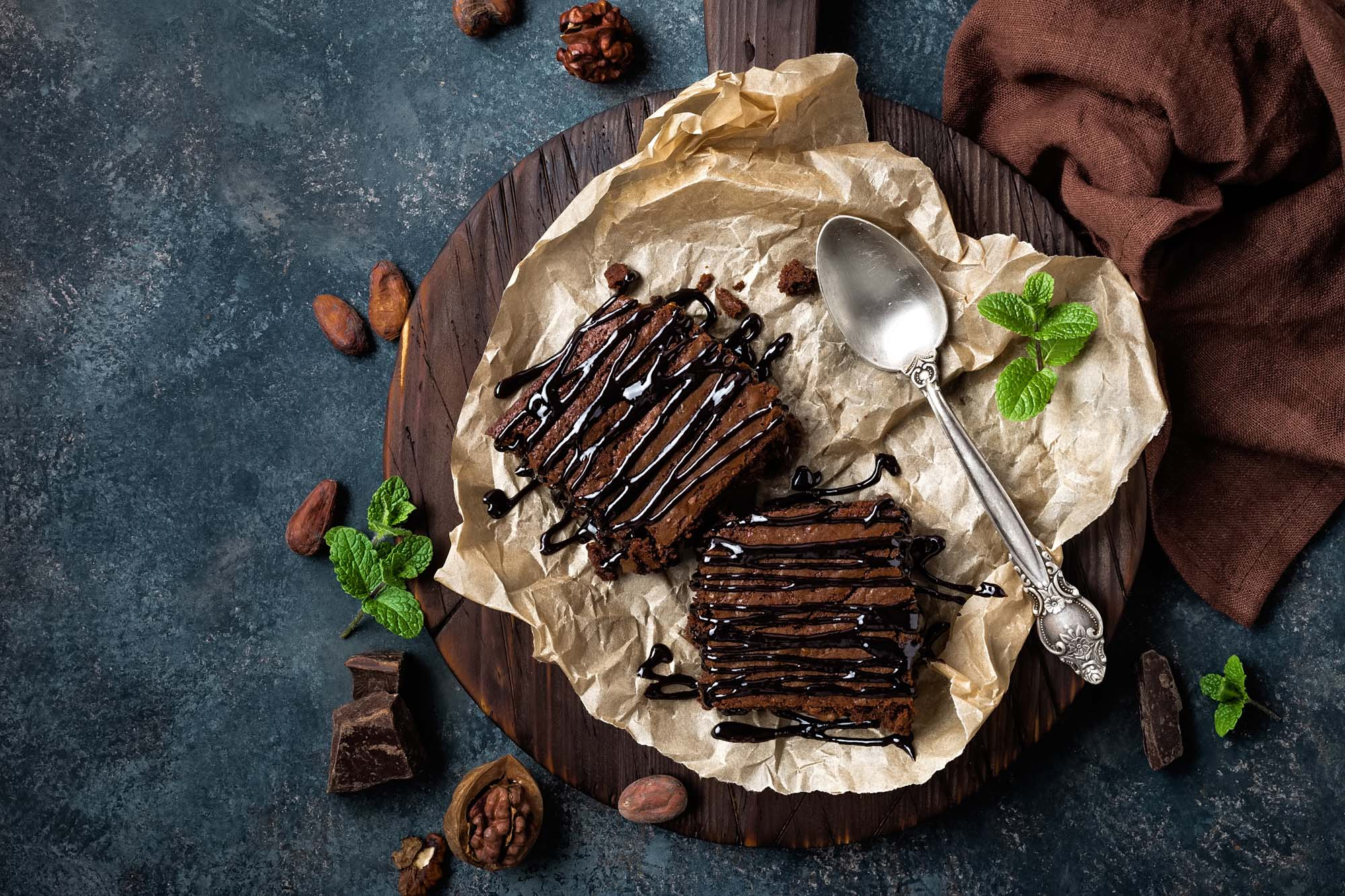 Mormors amerikanske chokoladekage