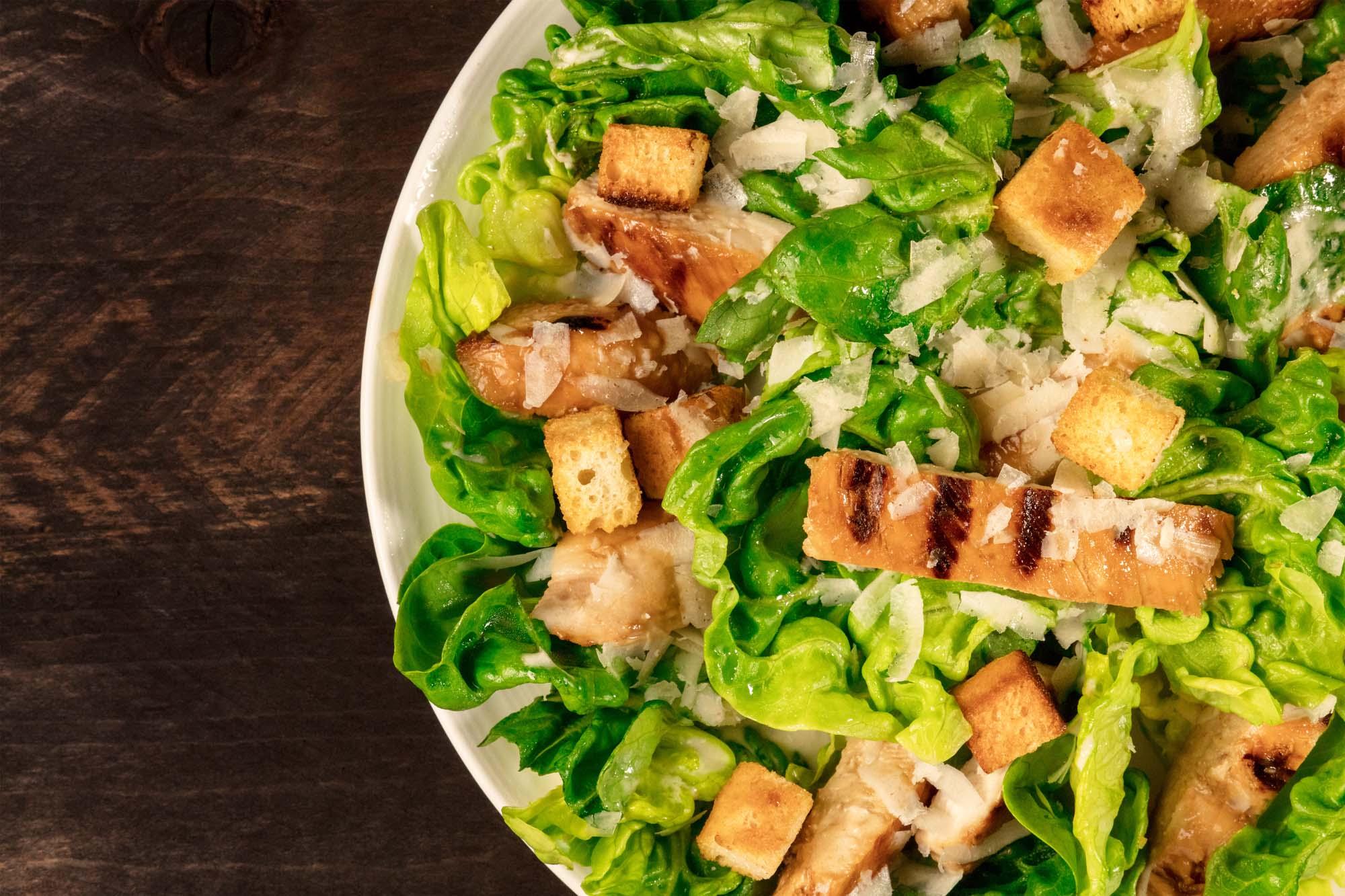 Caesarsalat med kylling