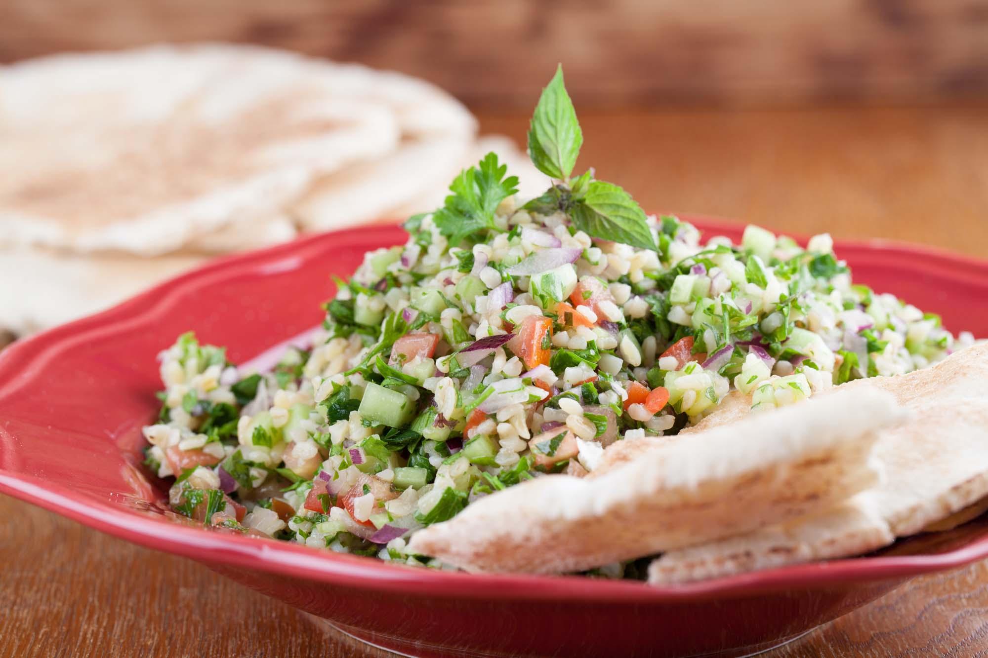 Bulgur Salat med marinade