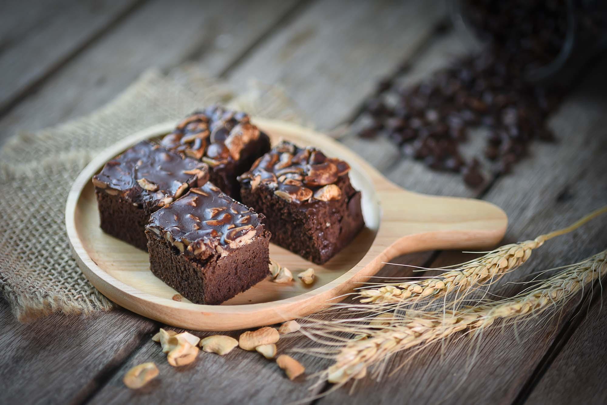 Amerikansk chokoladekage