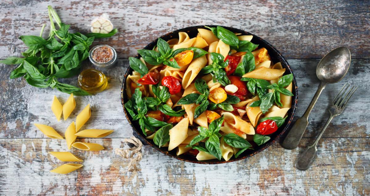 One pot pasta vegetar