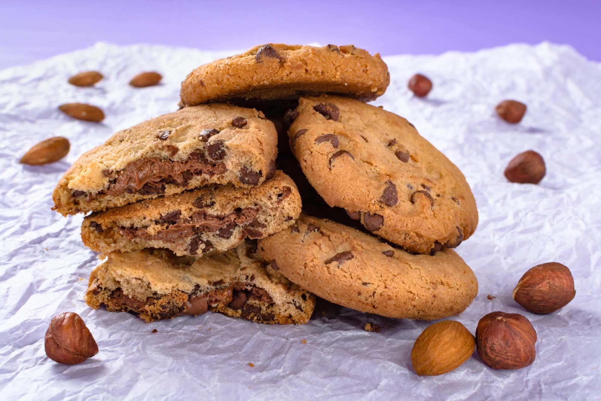 Nødde-chokolade småkager
