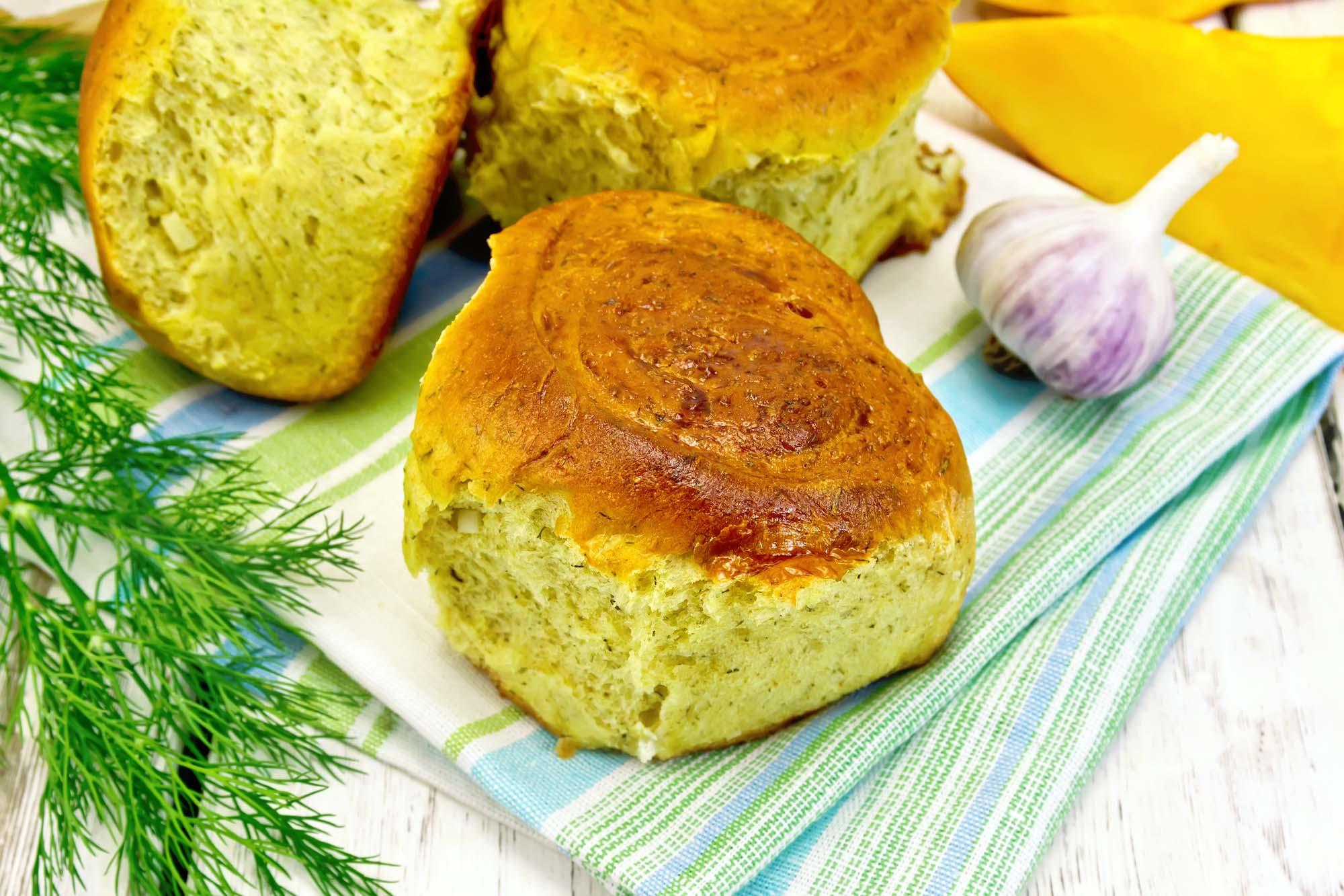 Brød med urter