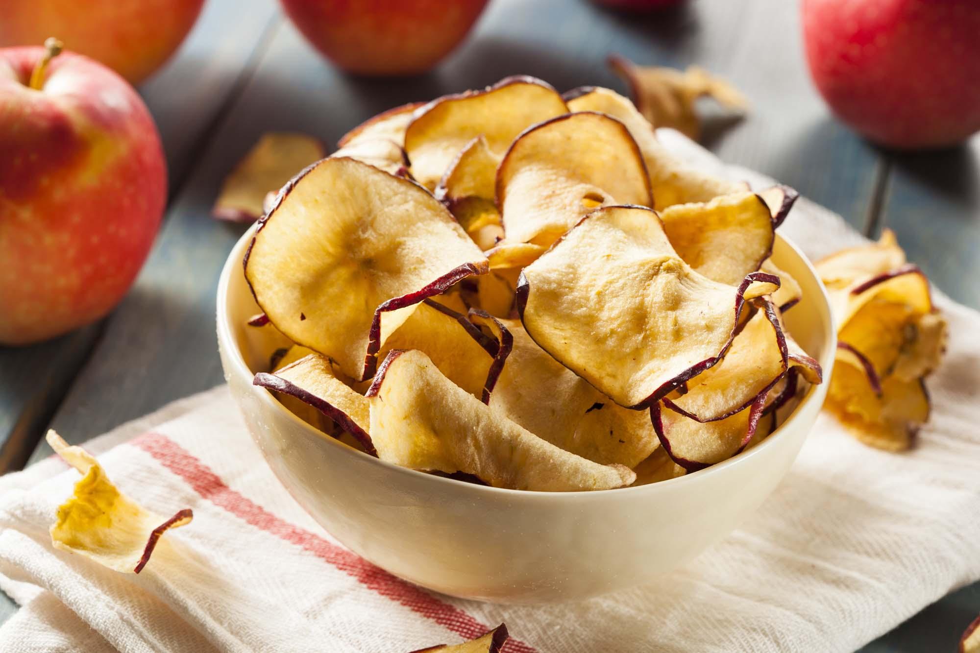 Æblecompot og æblechips