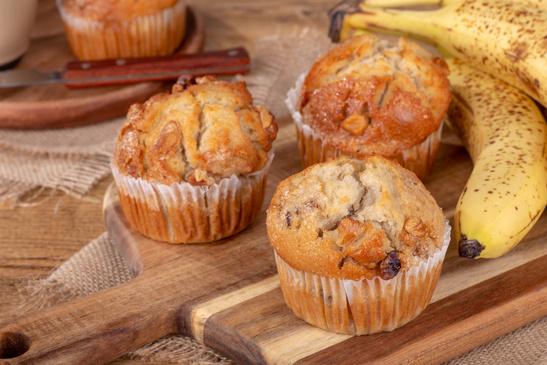 Sunde banan muffins