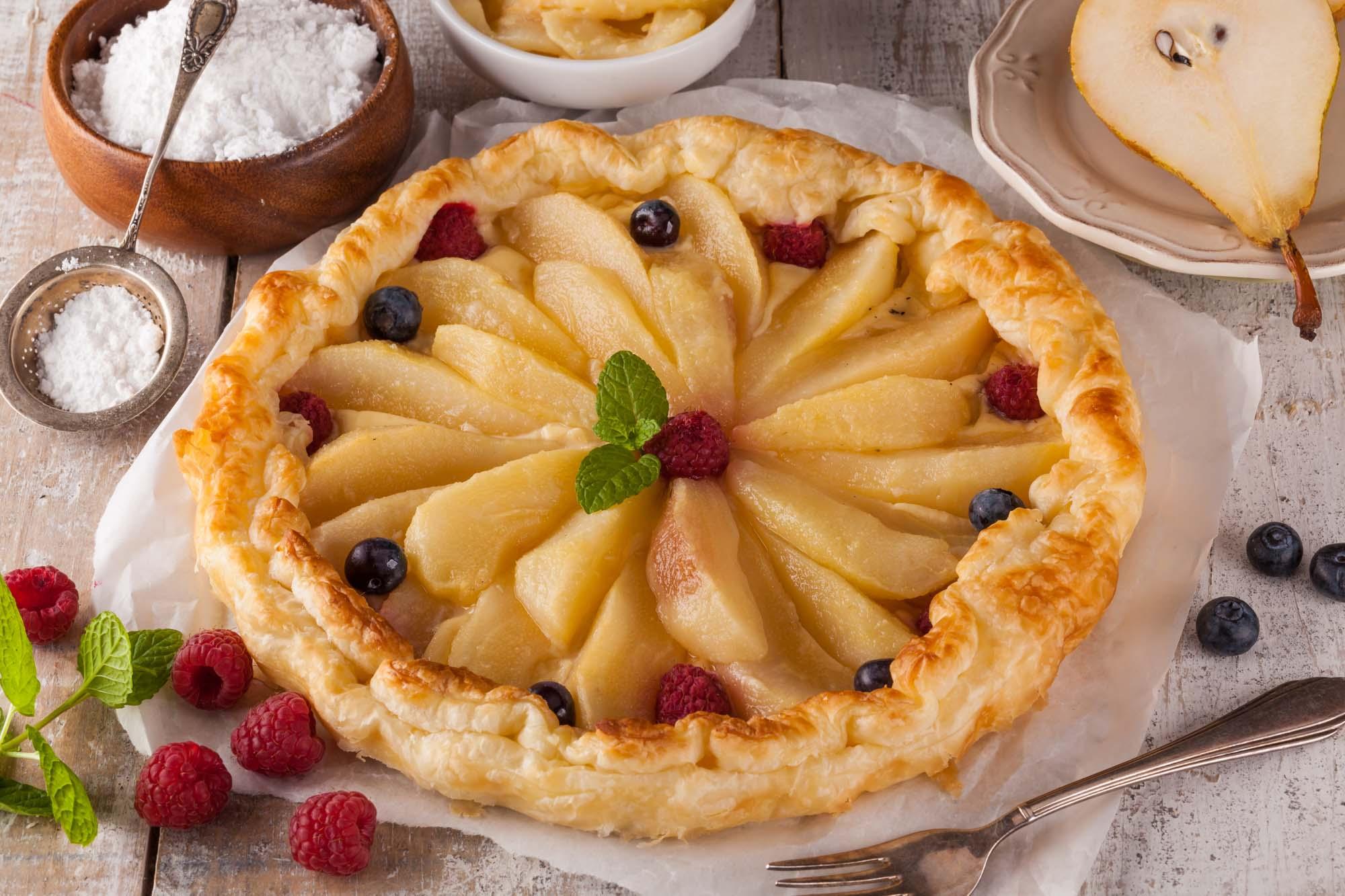 Marcipan-æblekage