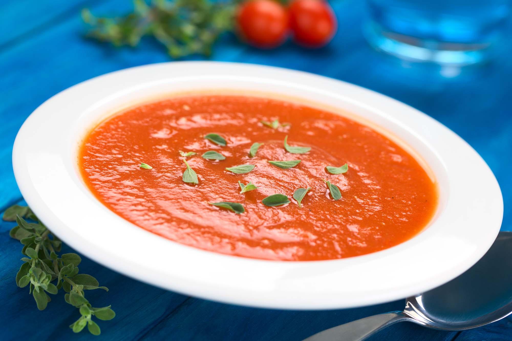 Tomatsuppe med oregano