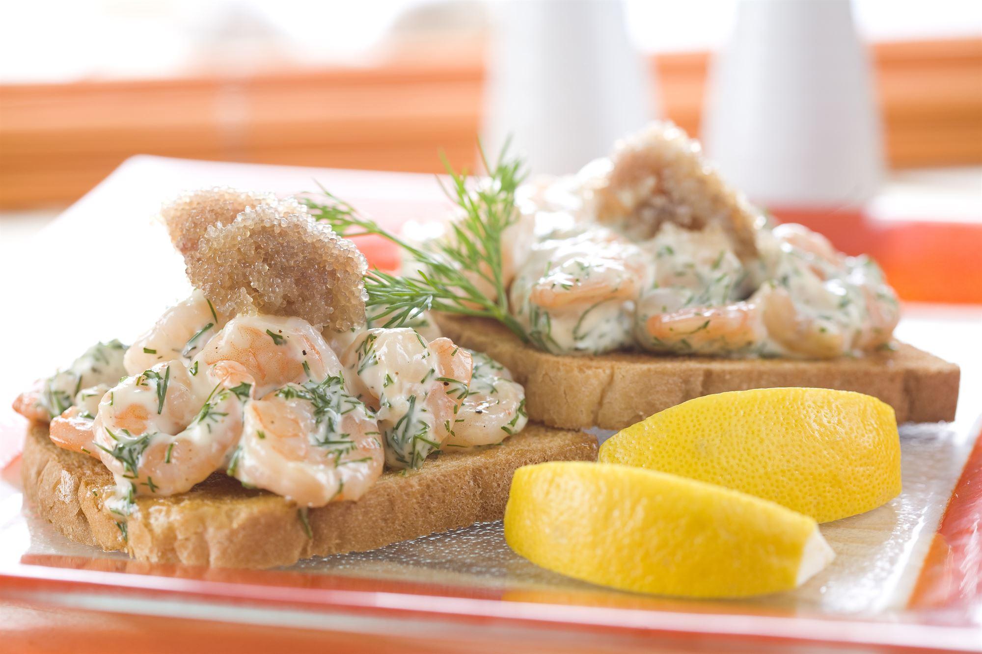 Rejesalat med hjemmelavet mayonnaise