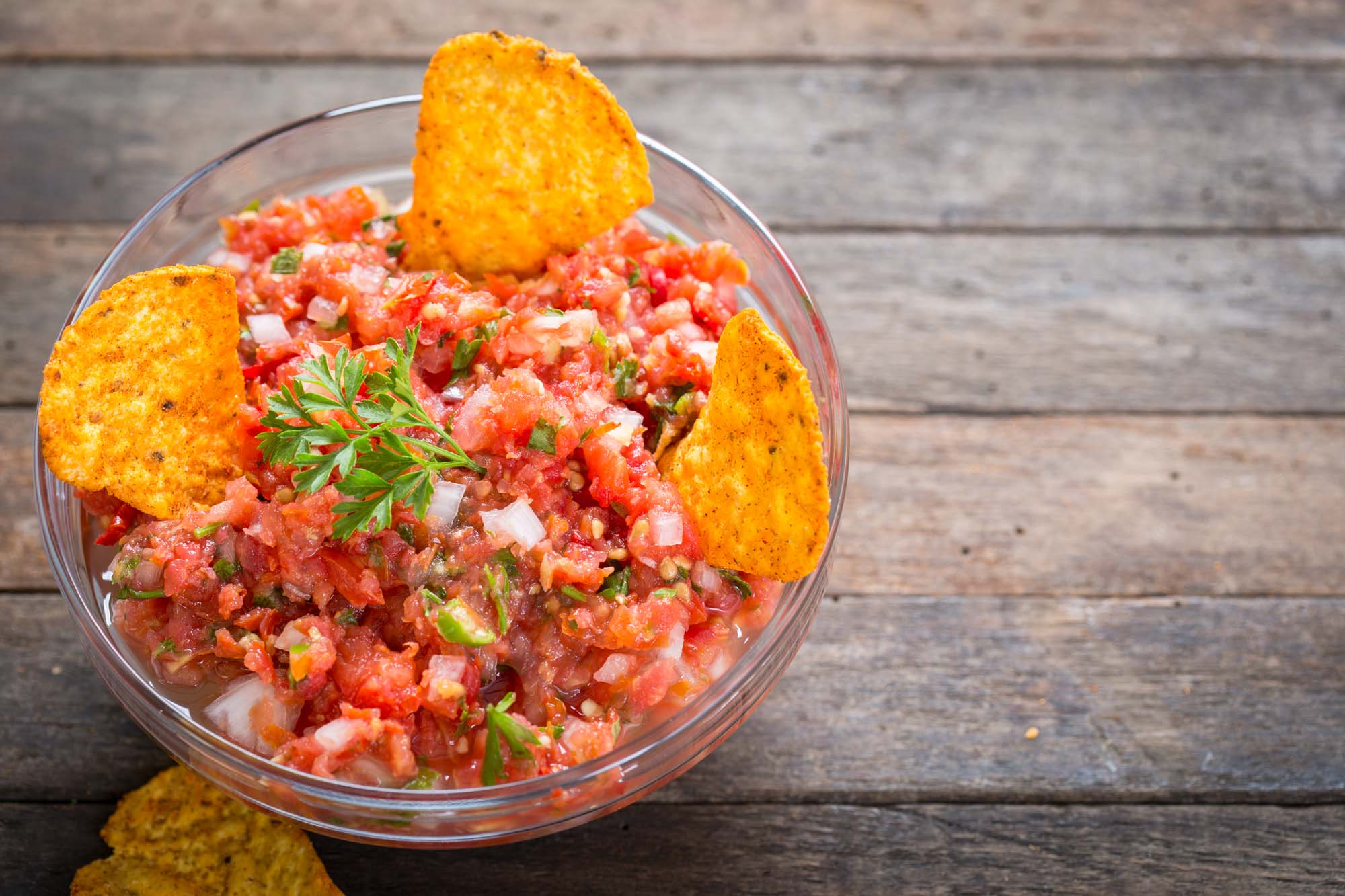 Krydret mexicansk salsa
