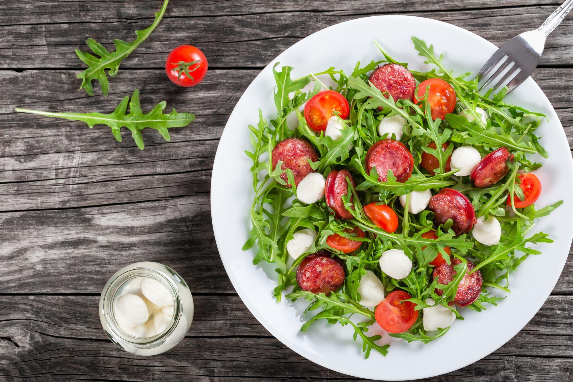 Chorizo salat