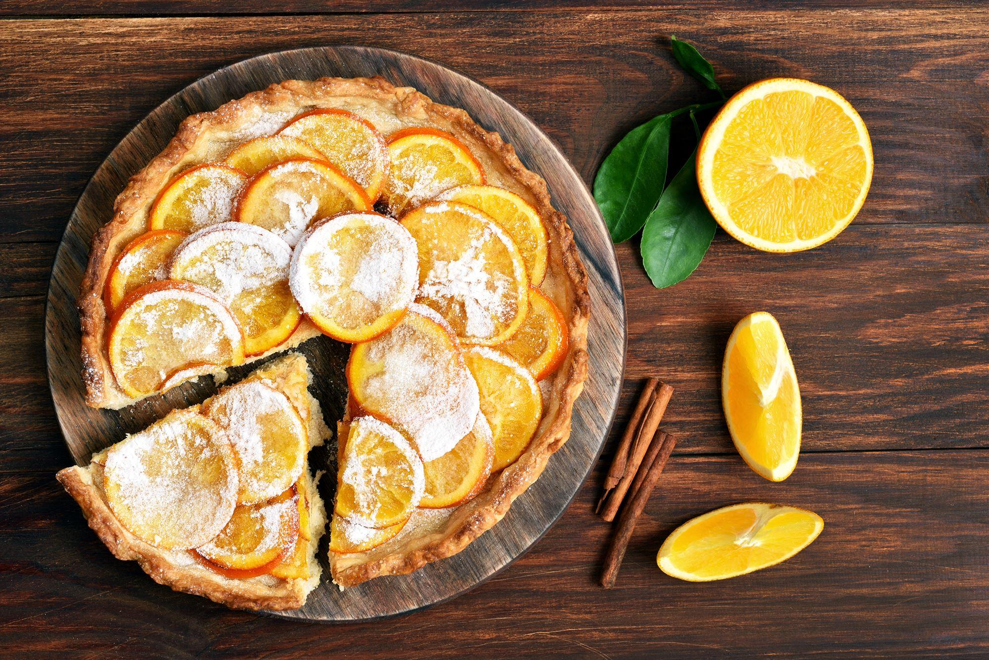 Nye kartofler med appelsin