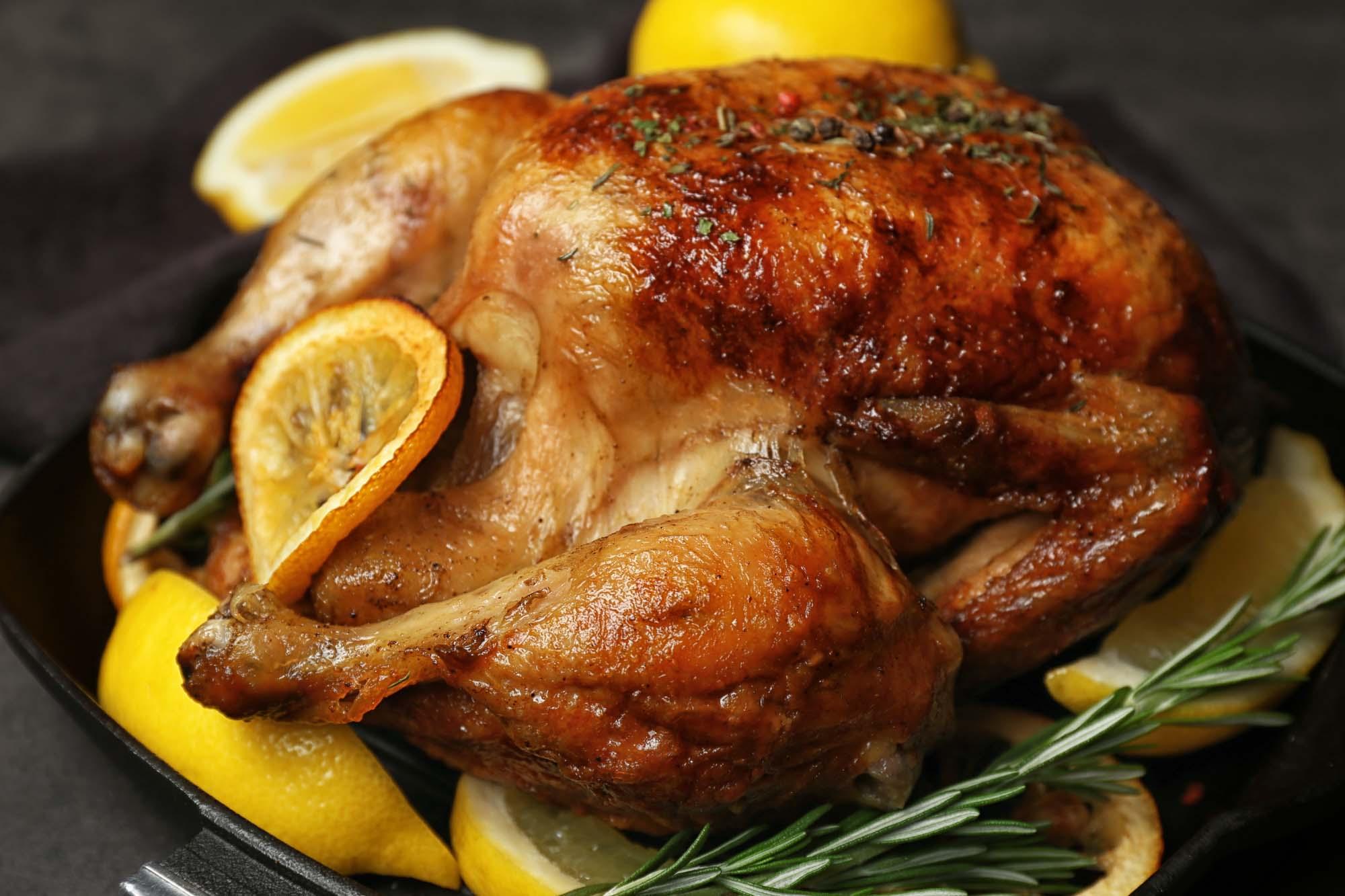 BBQ kylling med citron