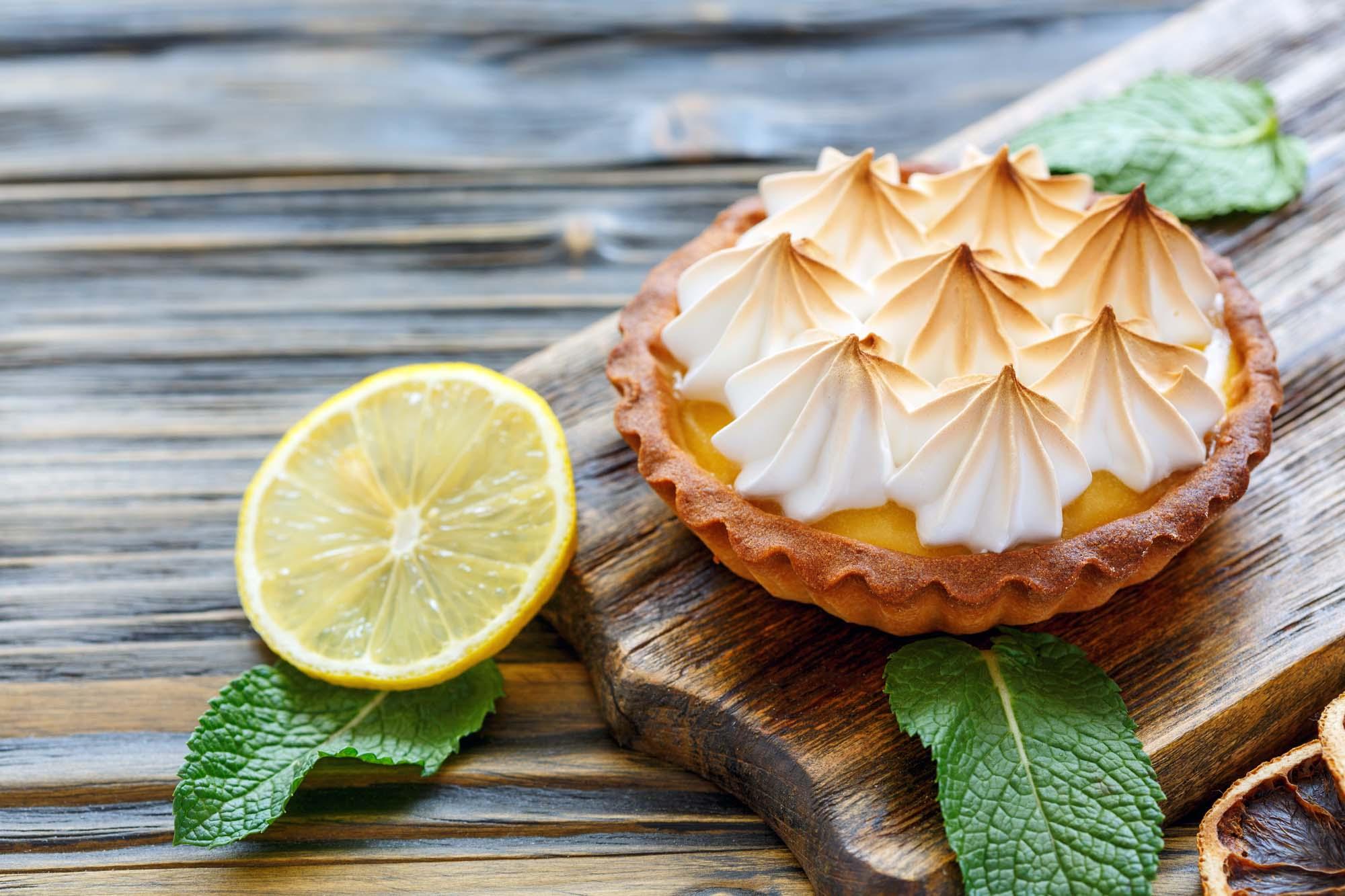 Klassisk citrontærte