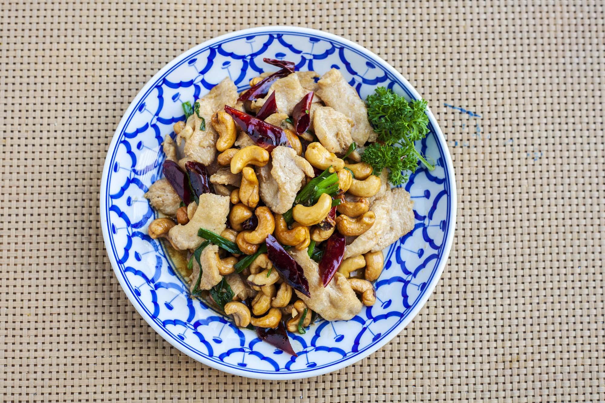 Kylling med cashew