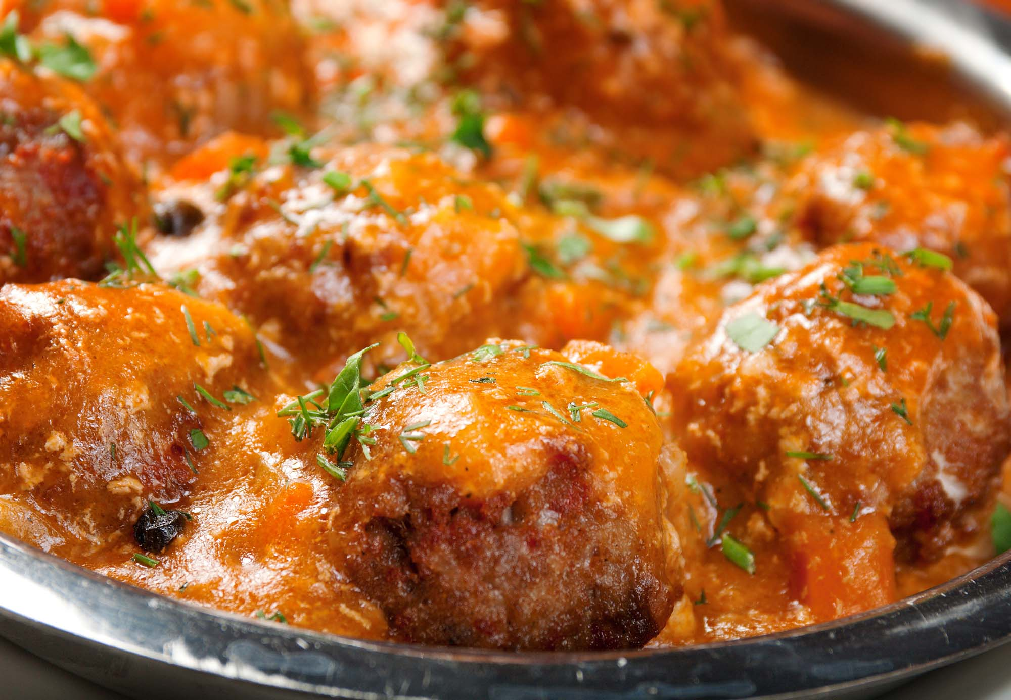 Mexicanske kødboller med salsa