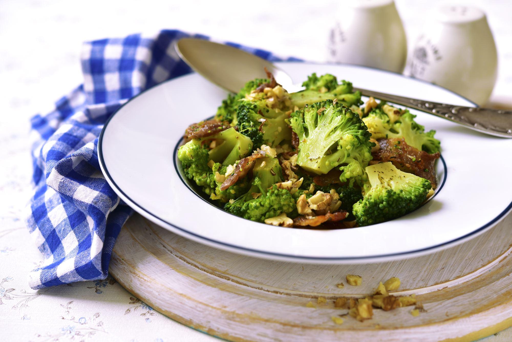 Broccoli med bacon