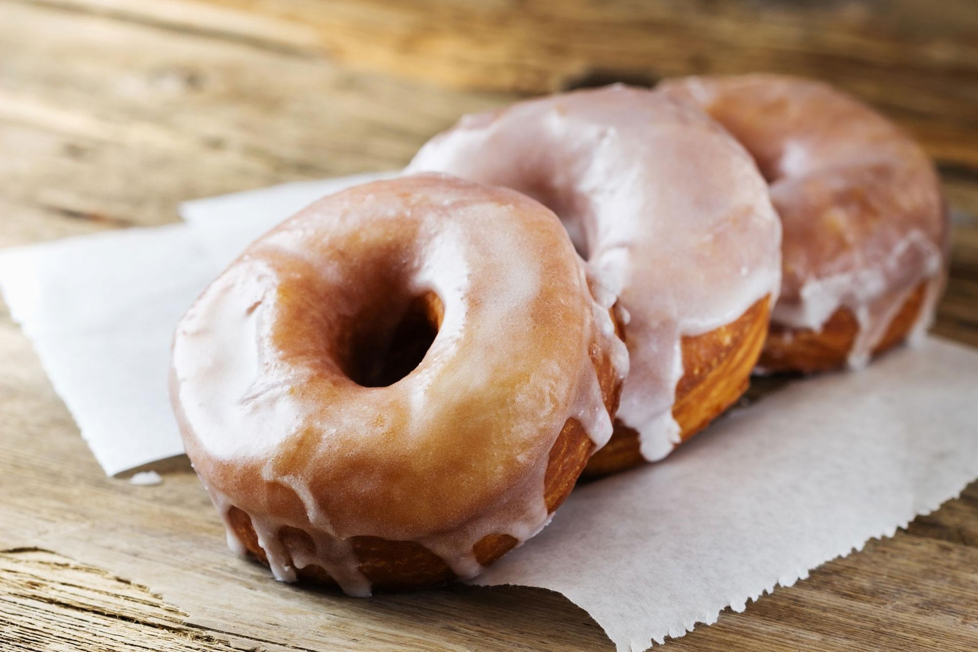 Sprøde donuts