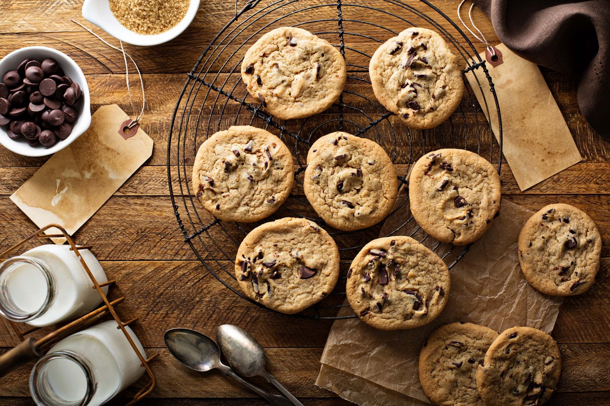 Amerikanske Chocolate Chip Cookies