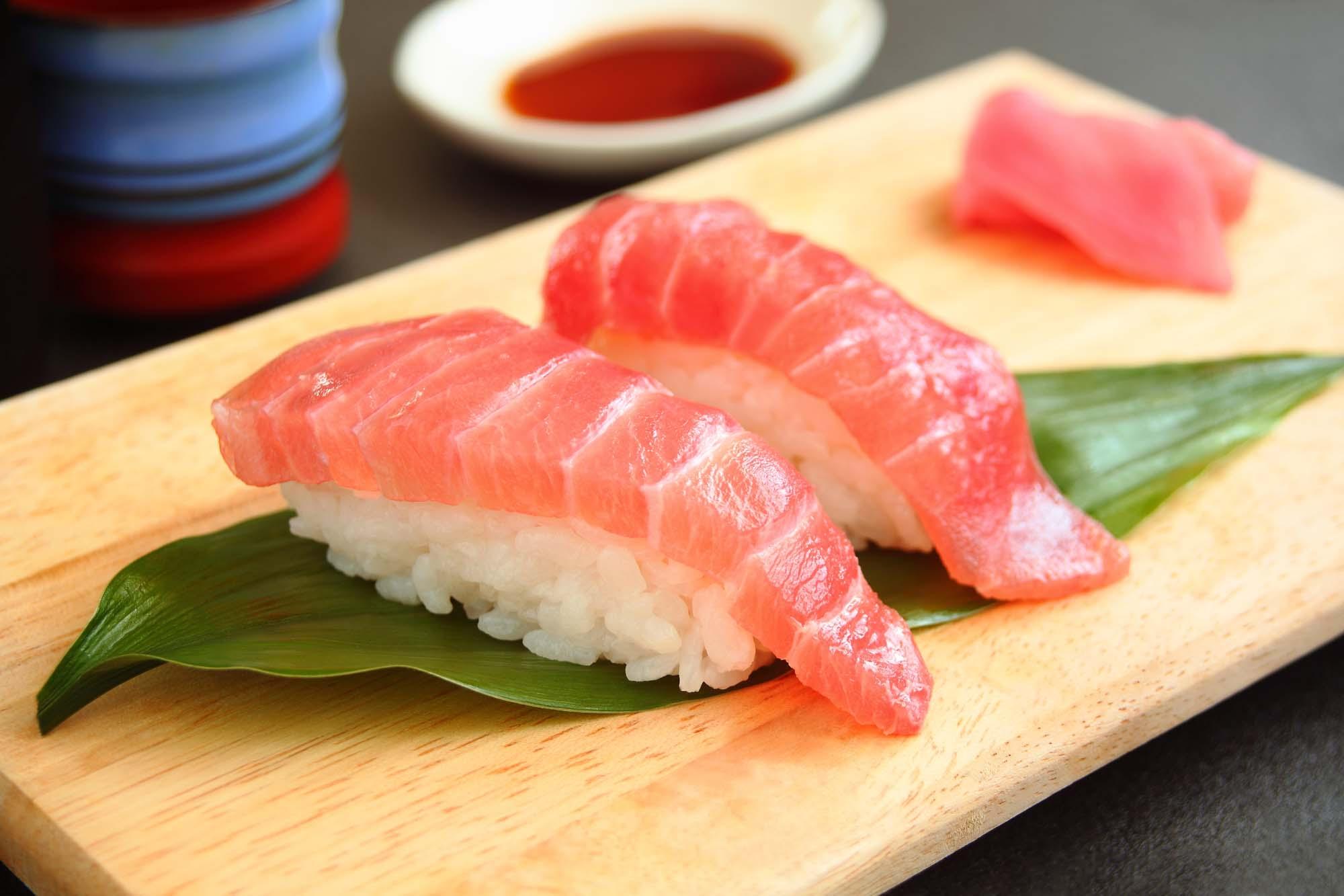 Nigri-sushi med tun