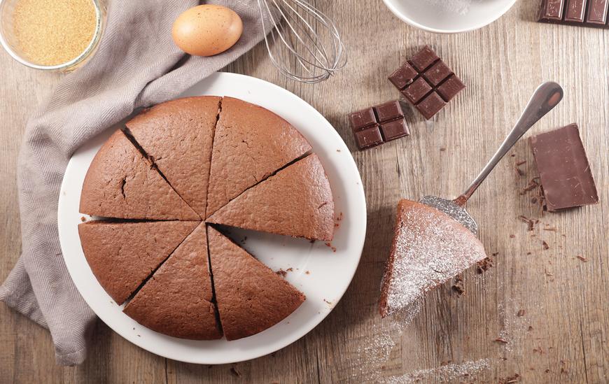 Chokoladekage med olie