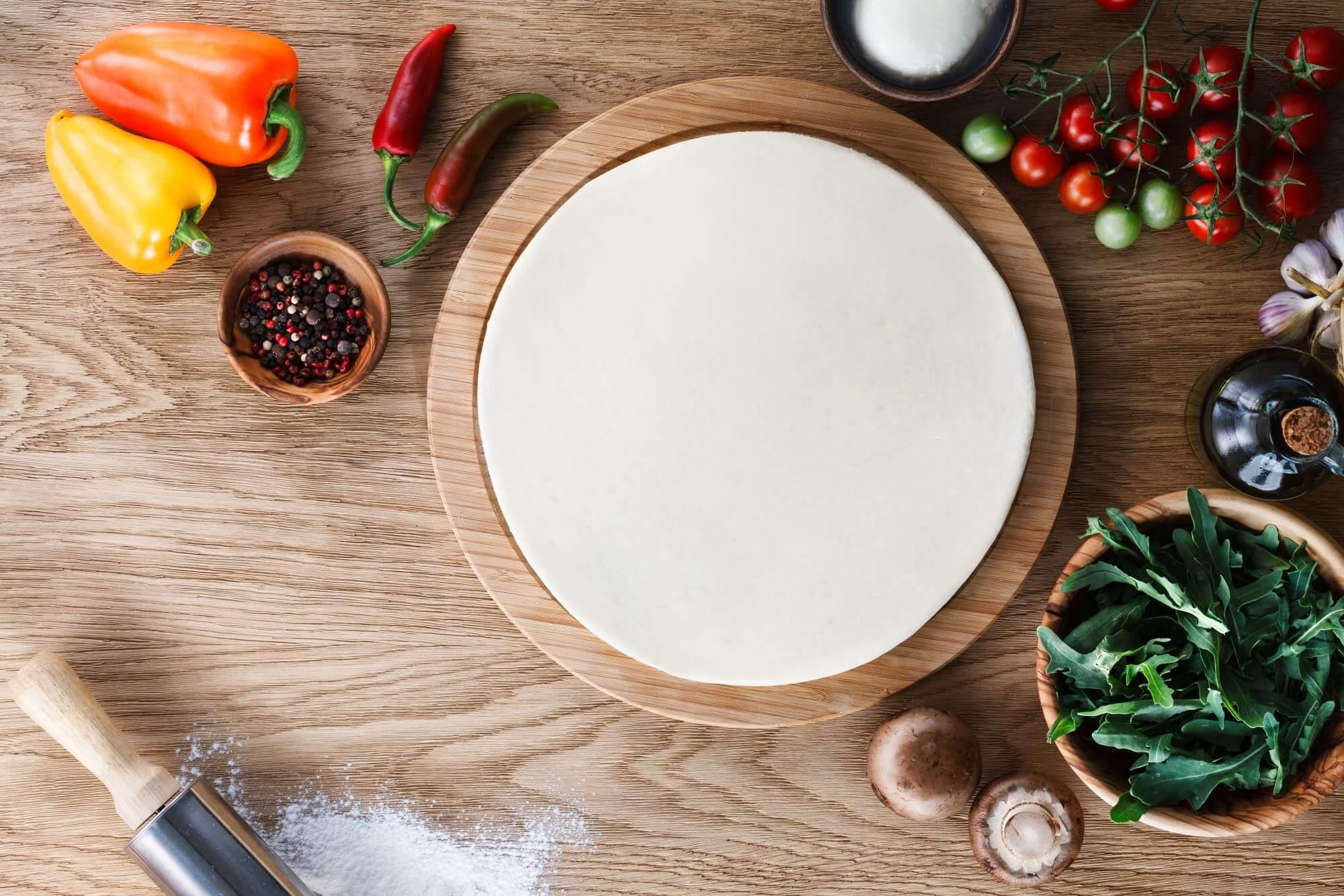 Italiensk pizzadej