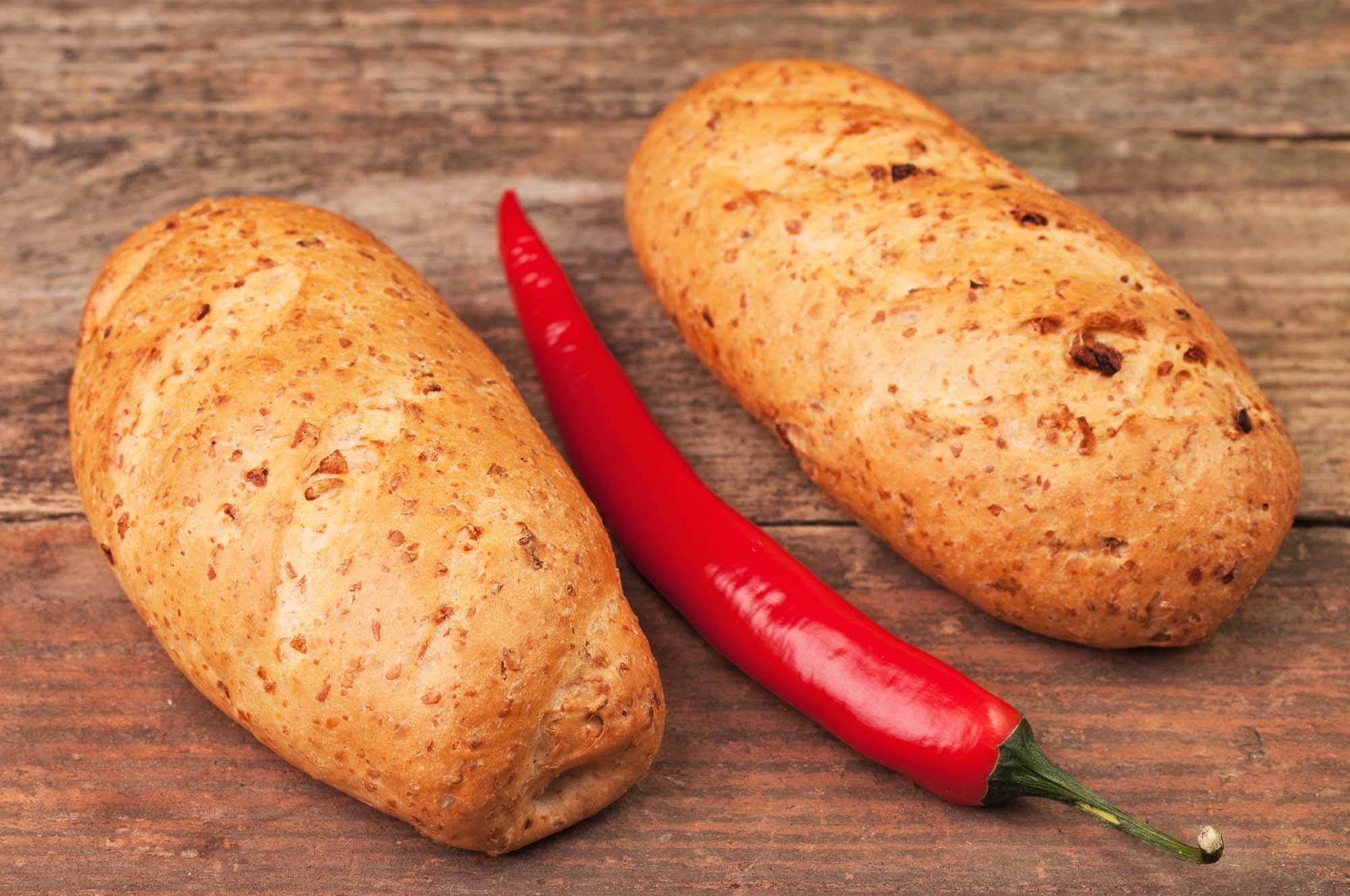 Himmelsk brød med chili