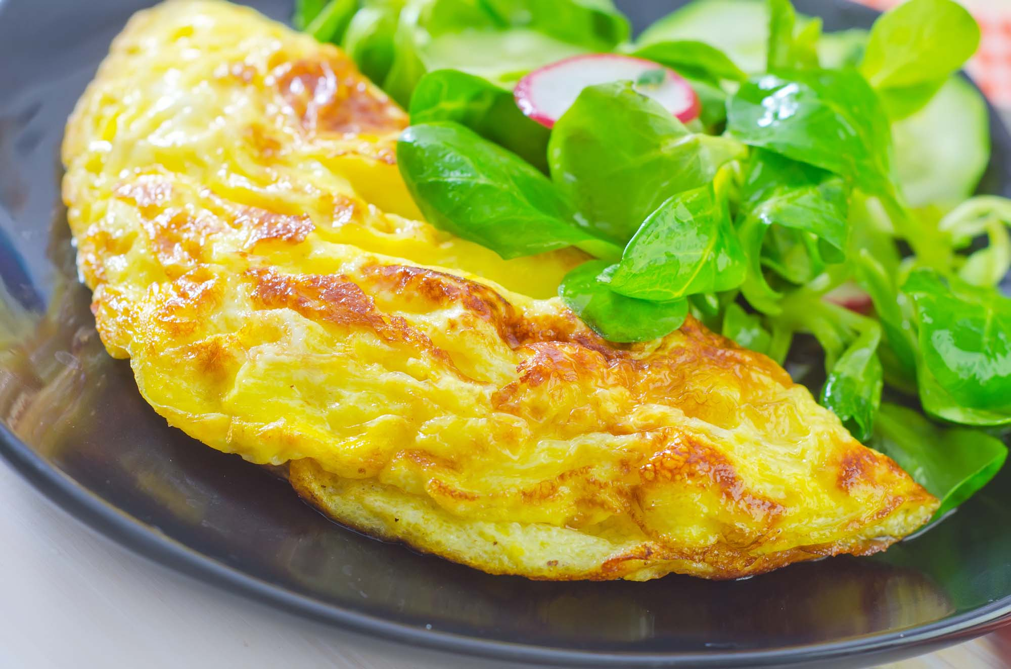Blue Cheese Omelet