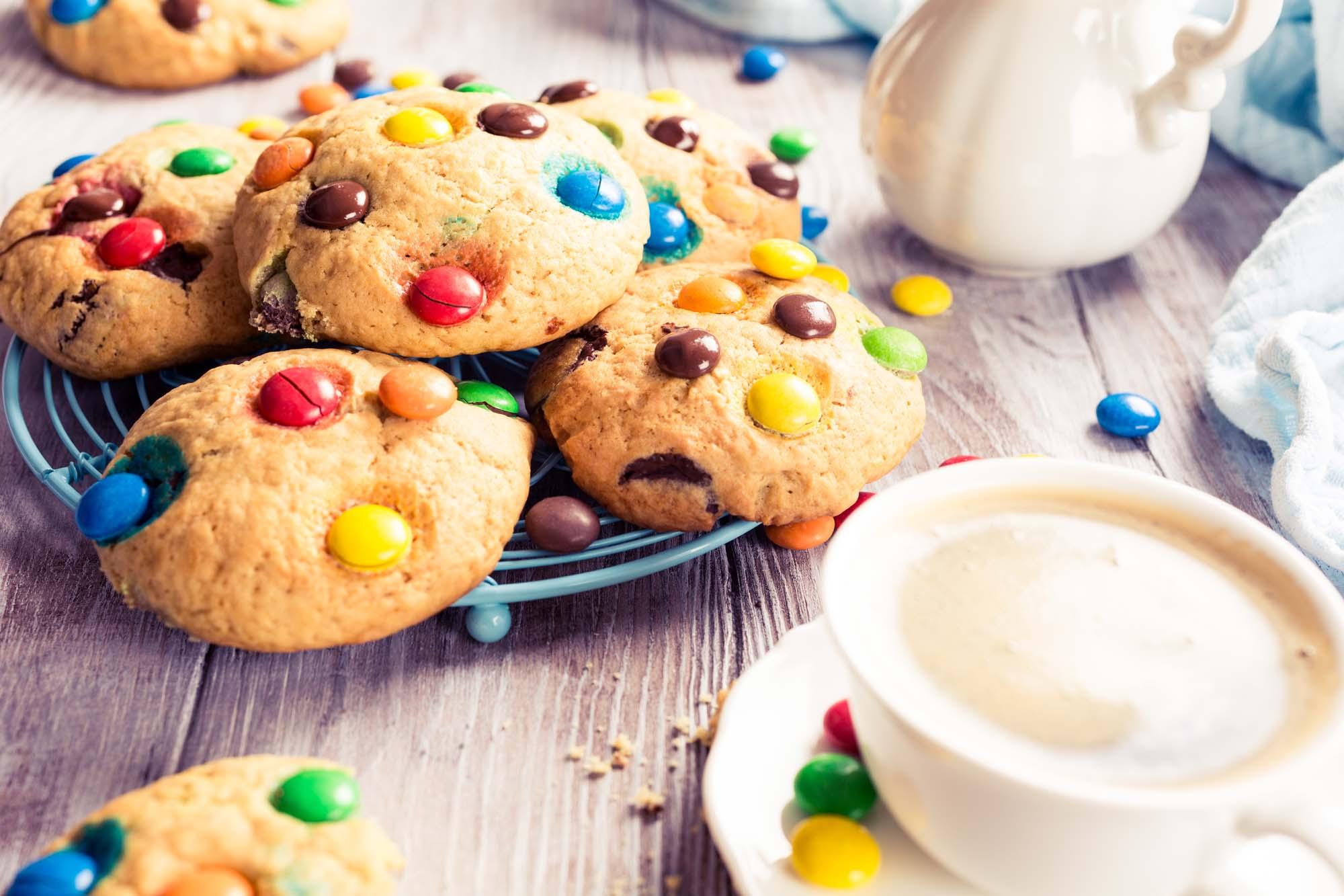 M&M småkager