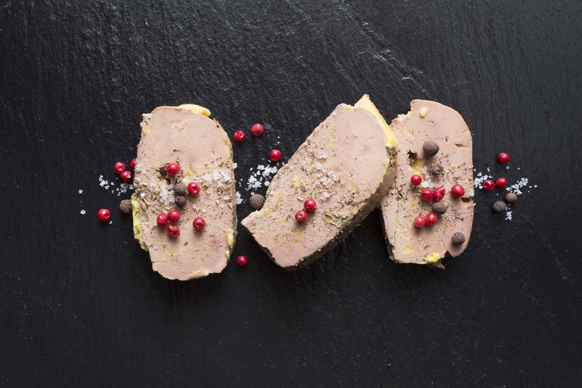 Foie gras a l'orange