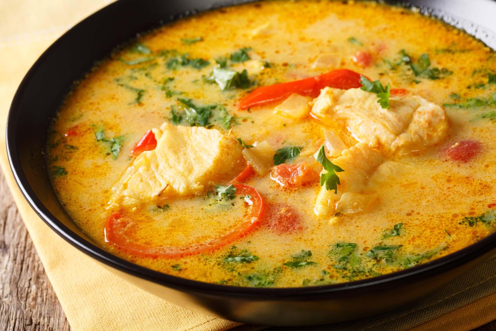 Indisk fisk karry