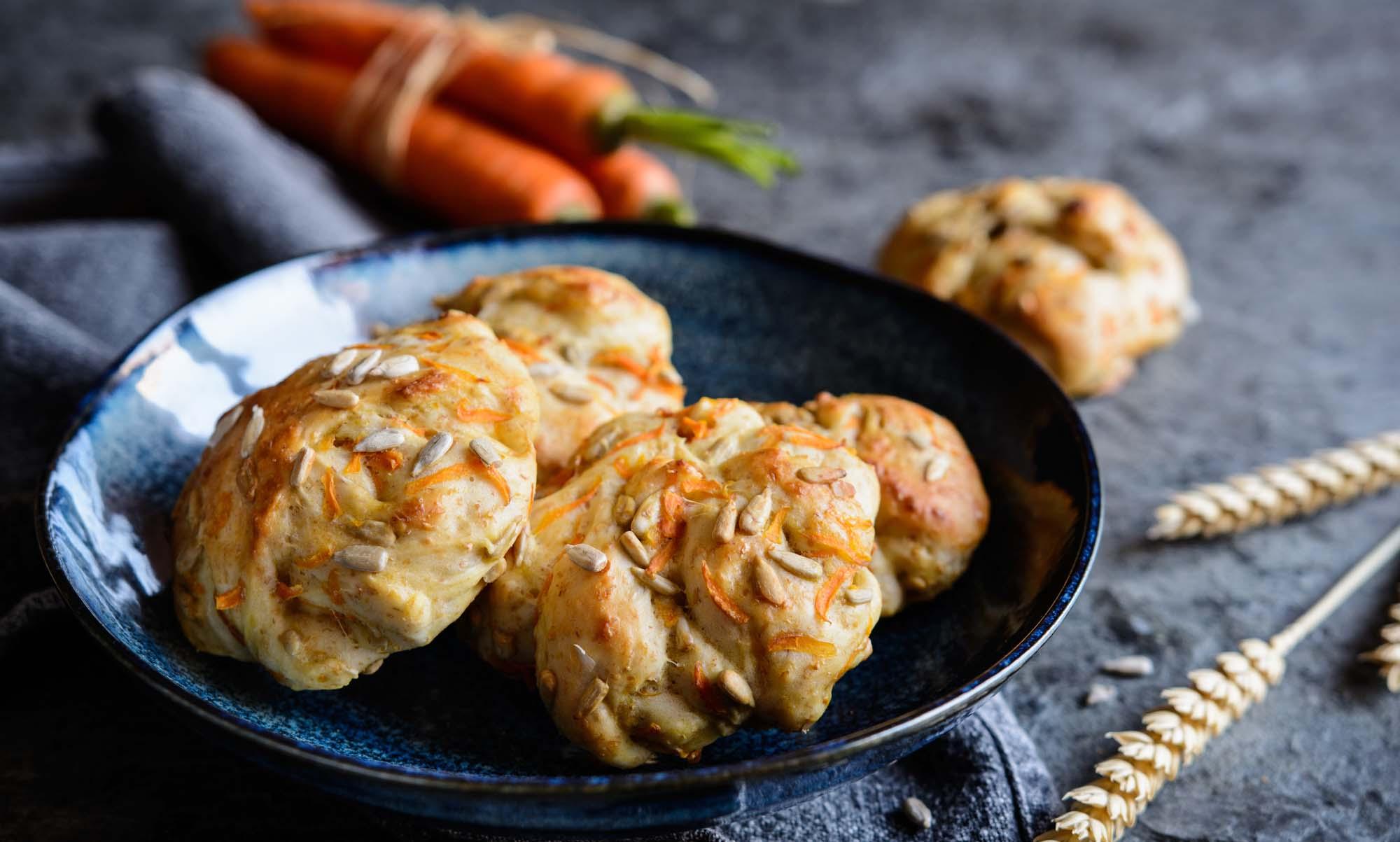Boller med ost og gulerødder
