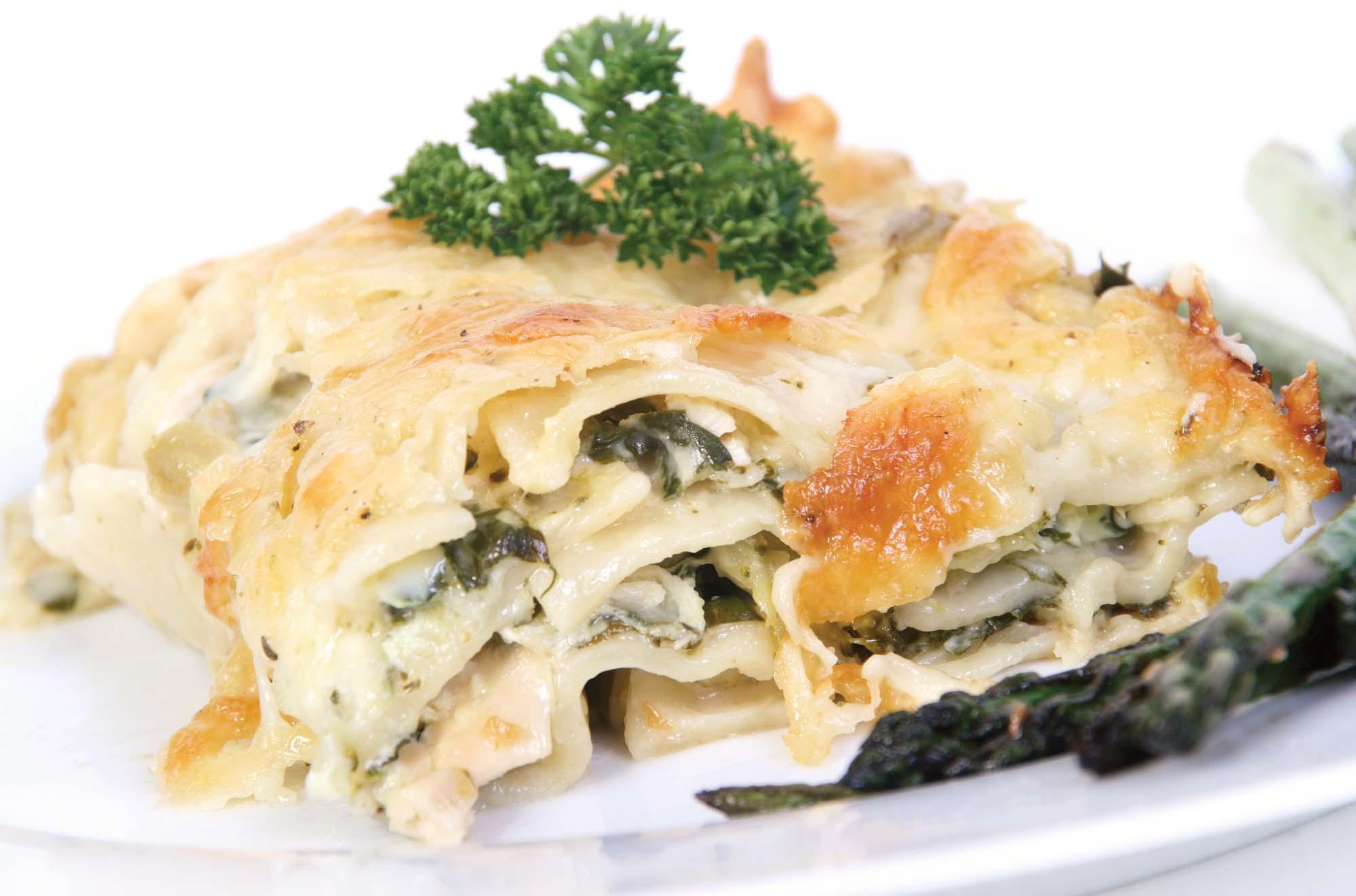 Mager lasagne