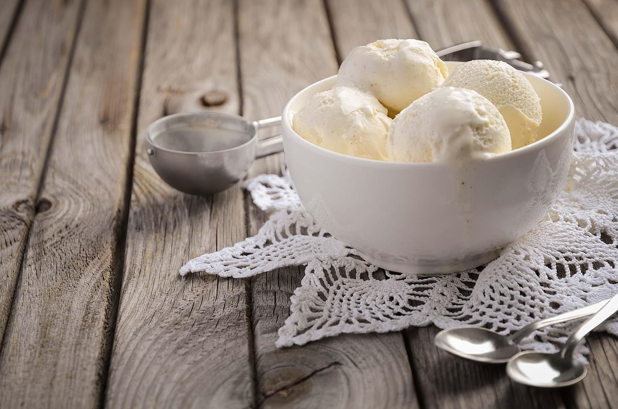 Is creme - Vanilje