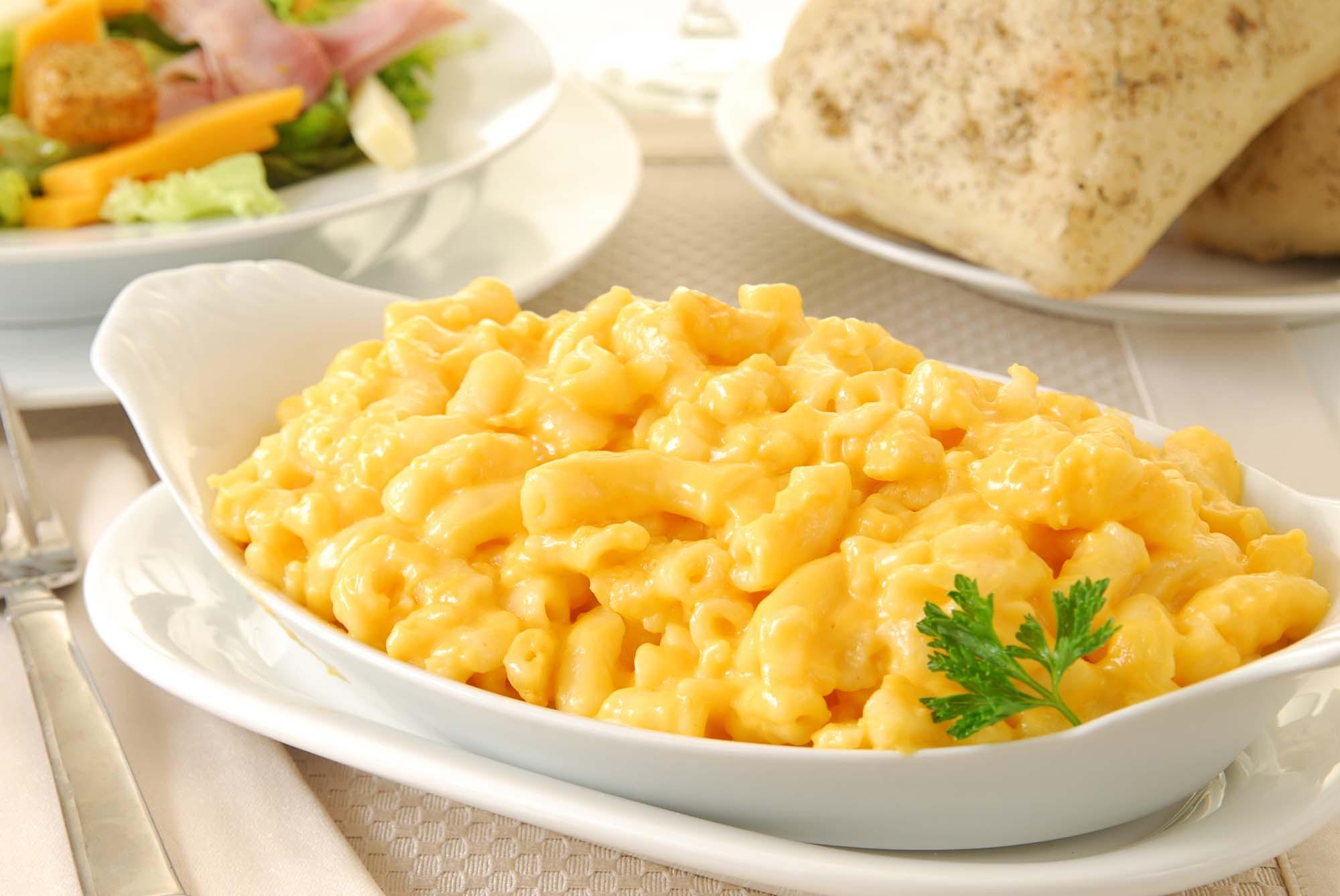 Macaroni med ostesauce