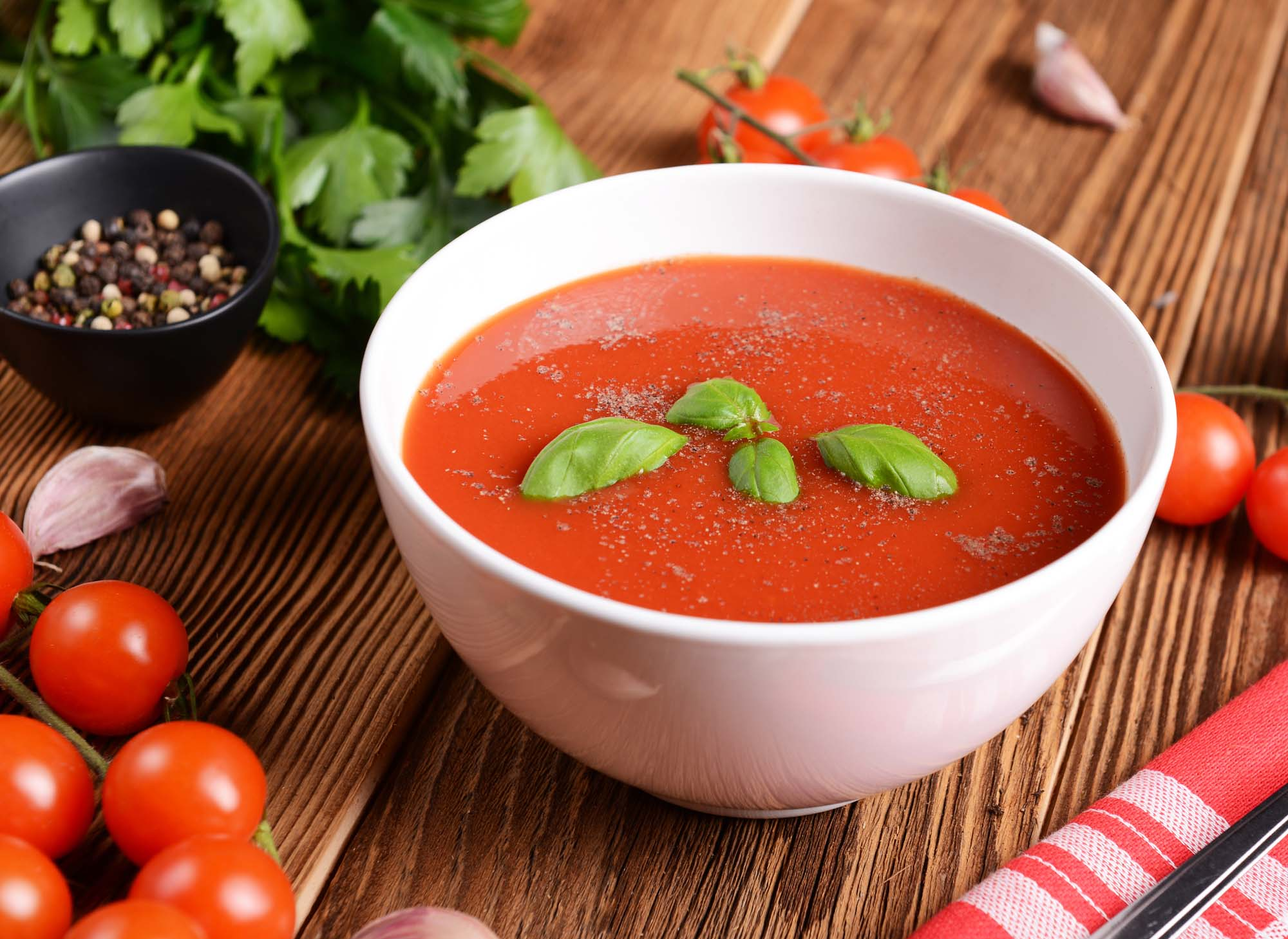 Melbye-Mortensens tomatsuppe