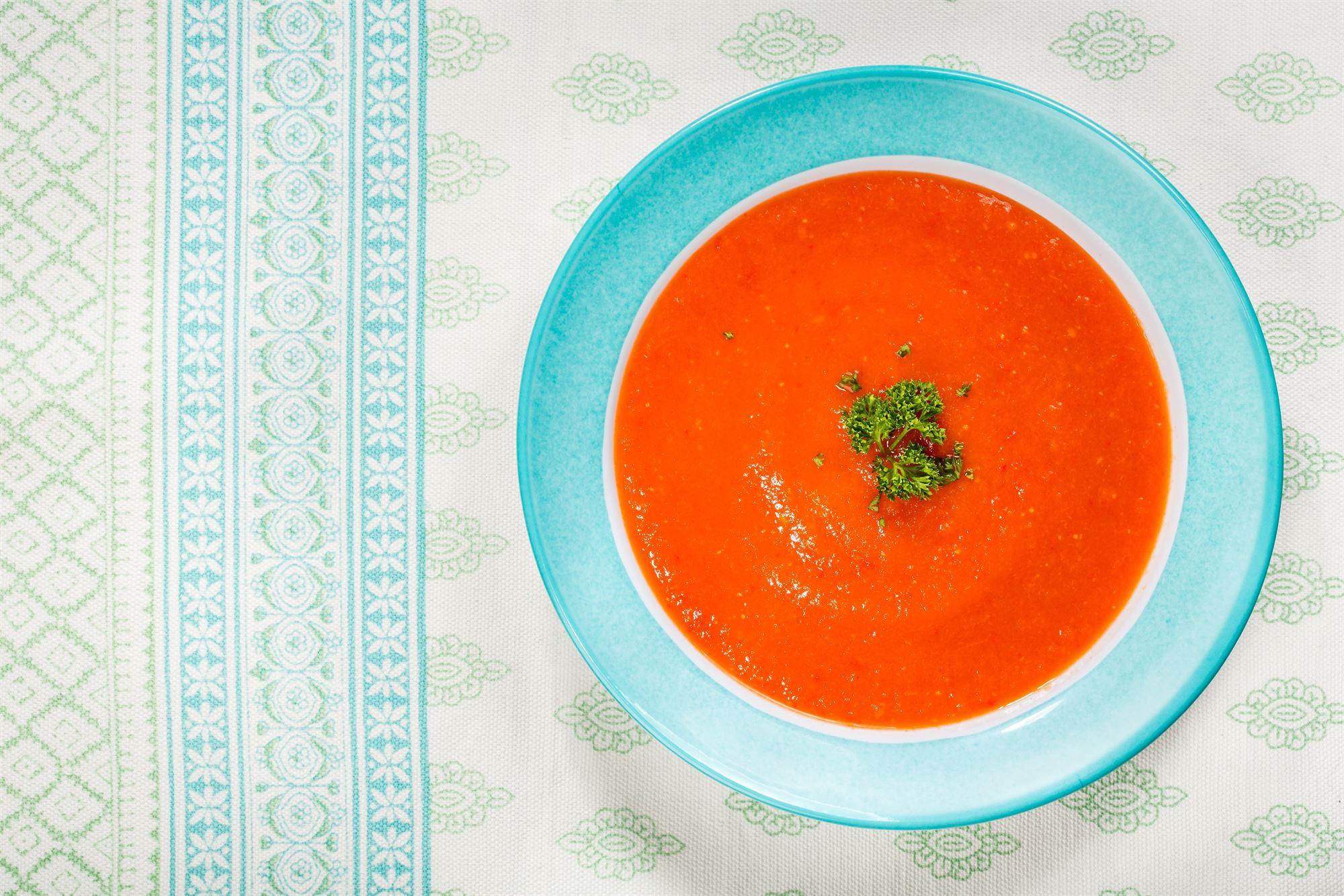 Gylden gazpacho
