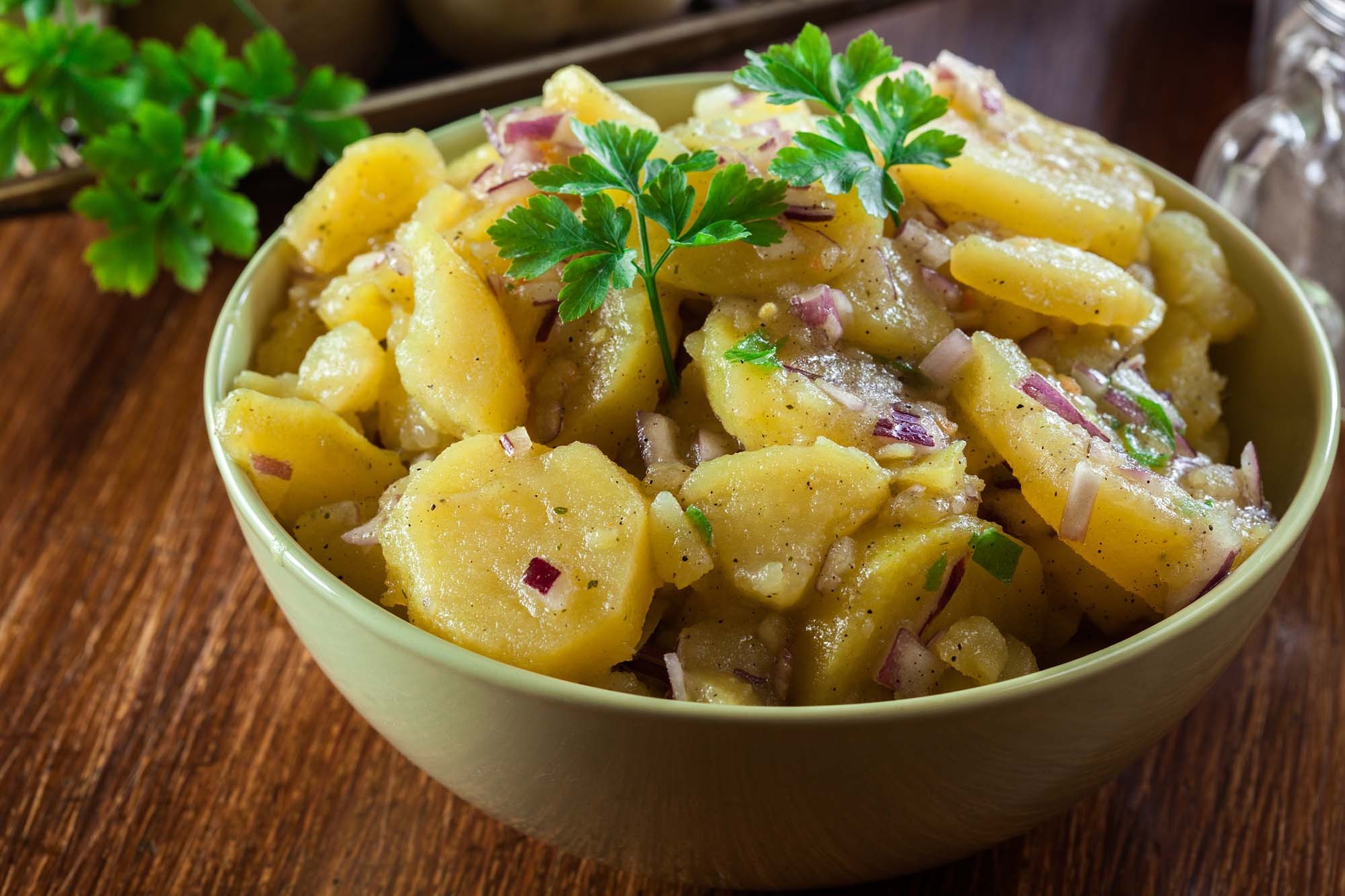 Gammeldaws varm kartoffelsalat
