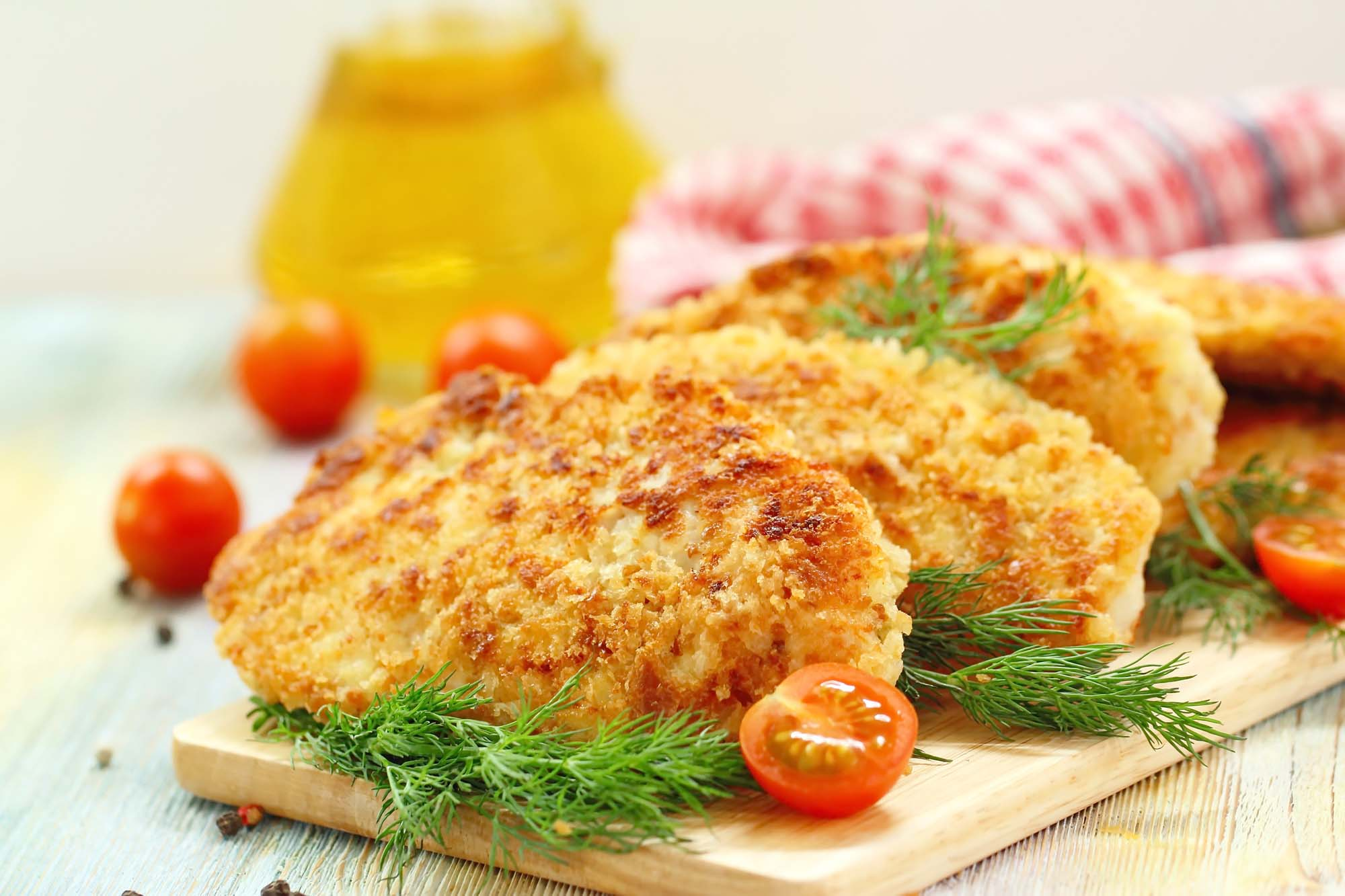 fiskefrikadeller med krydderier