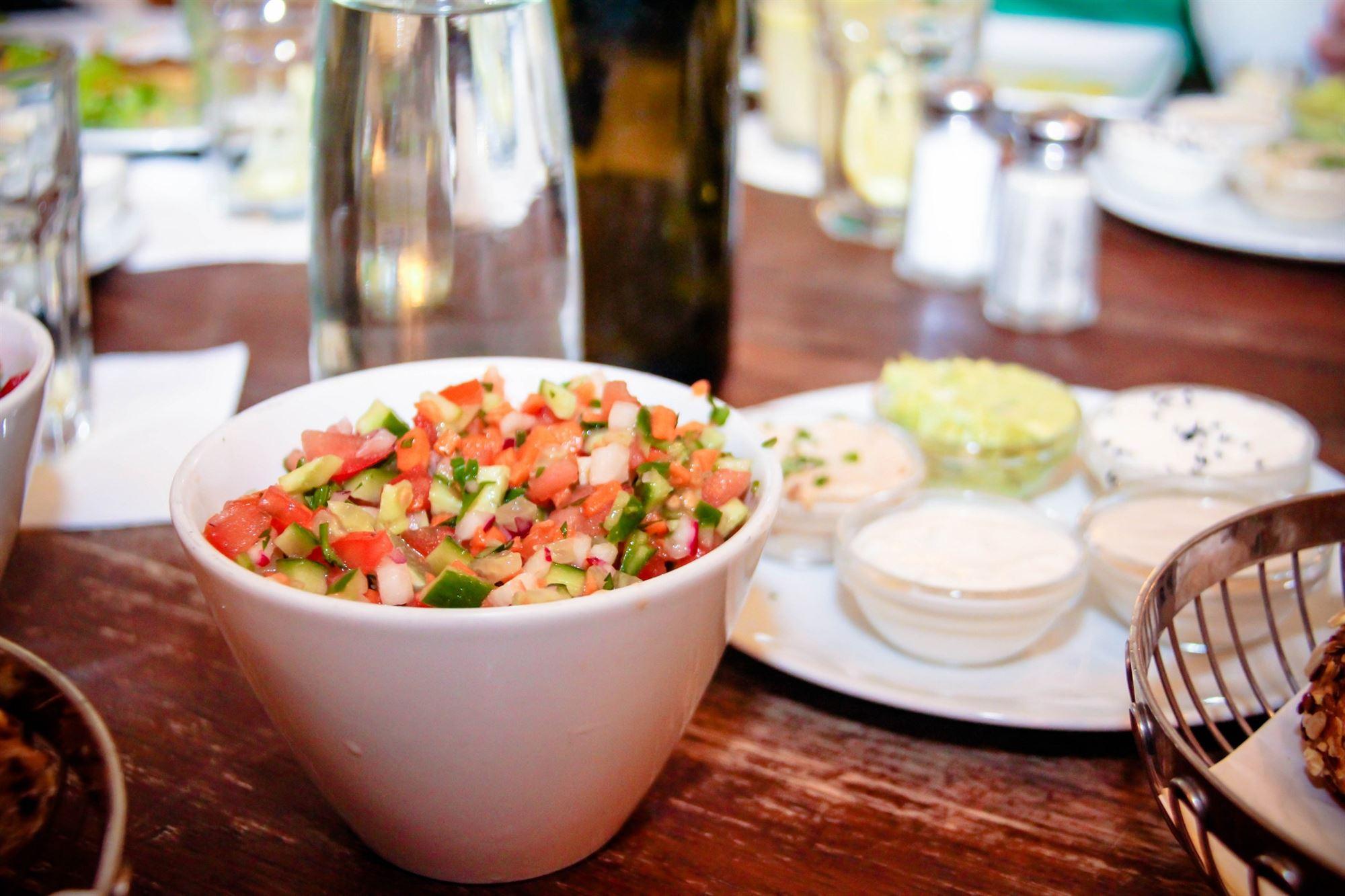 Israelsk salat