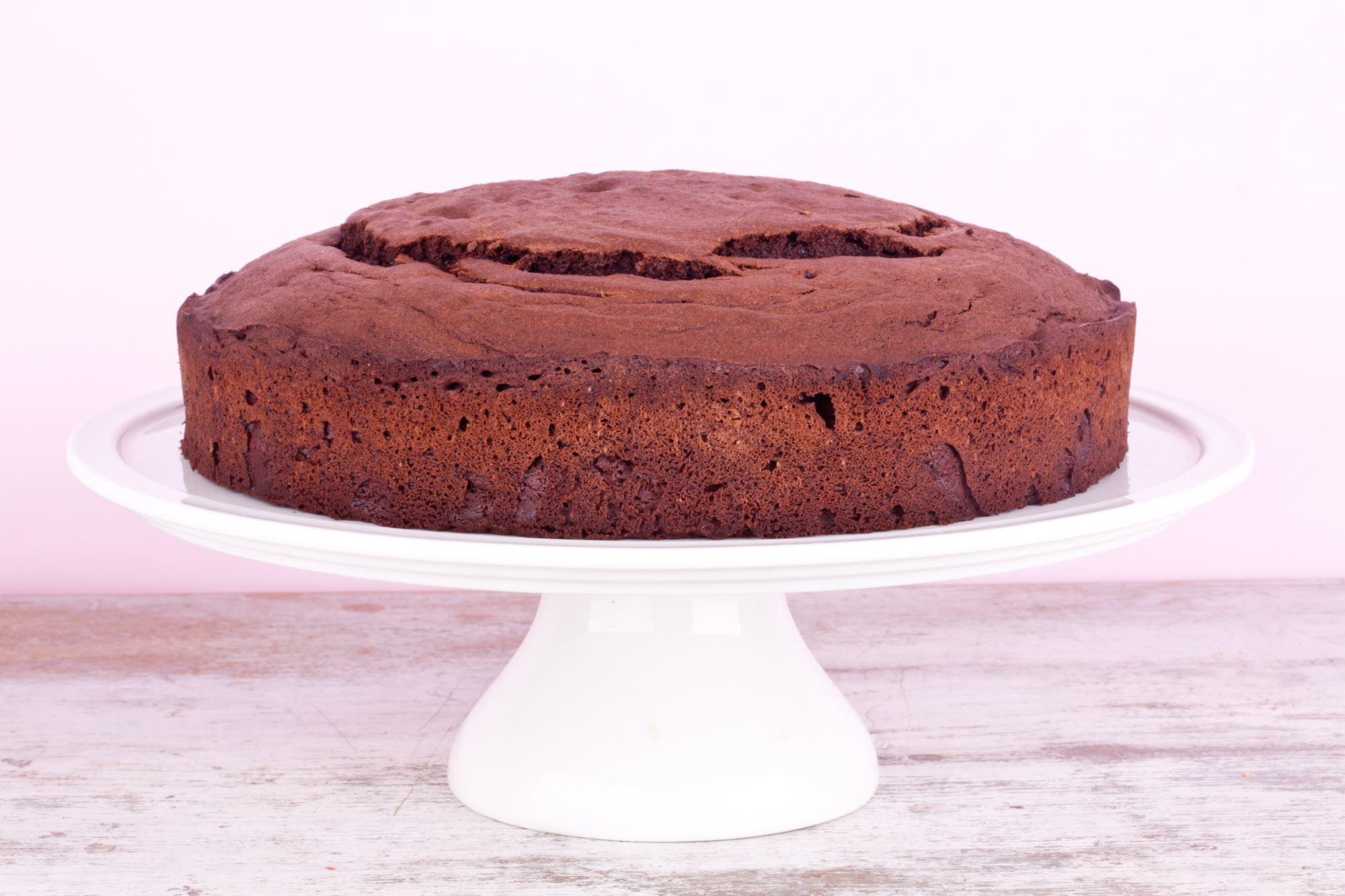 Cremet chokoladekage